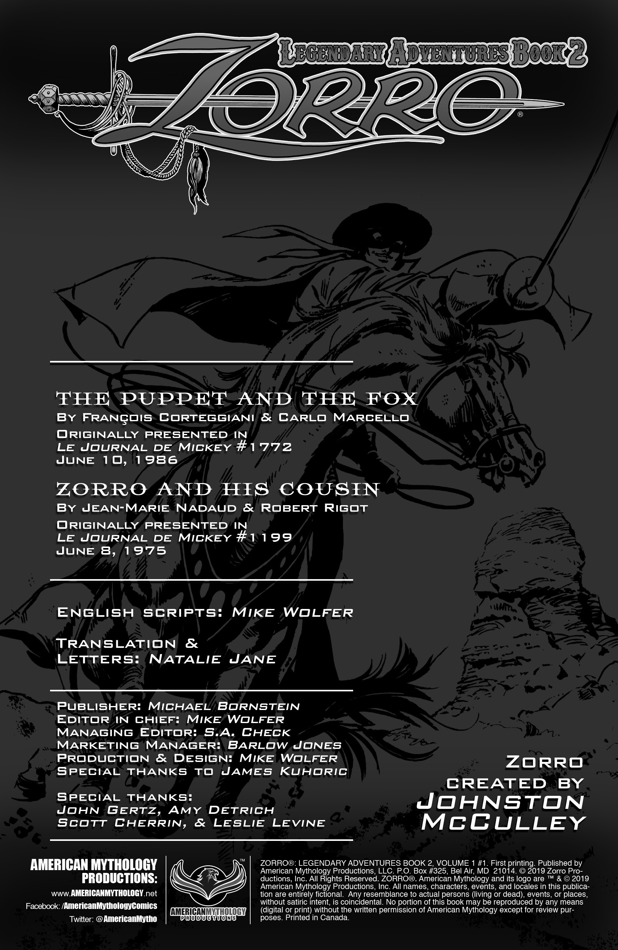 Zorro: Legendary Adventures (2019) 1 Page 2