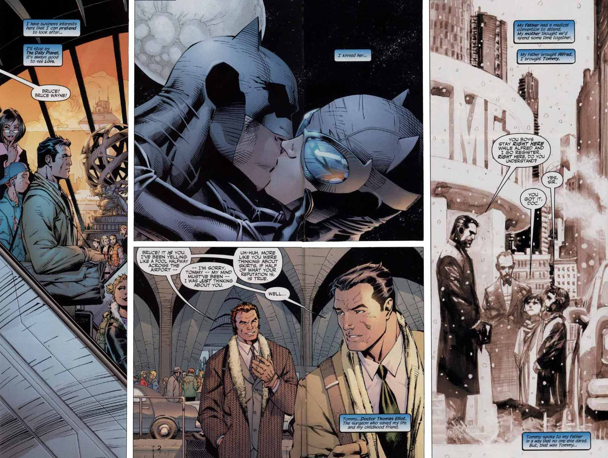 Read online Batman: Hush comic -  Issue #4 - 3