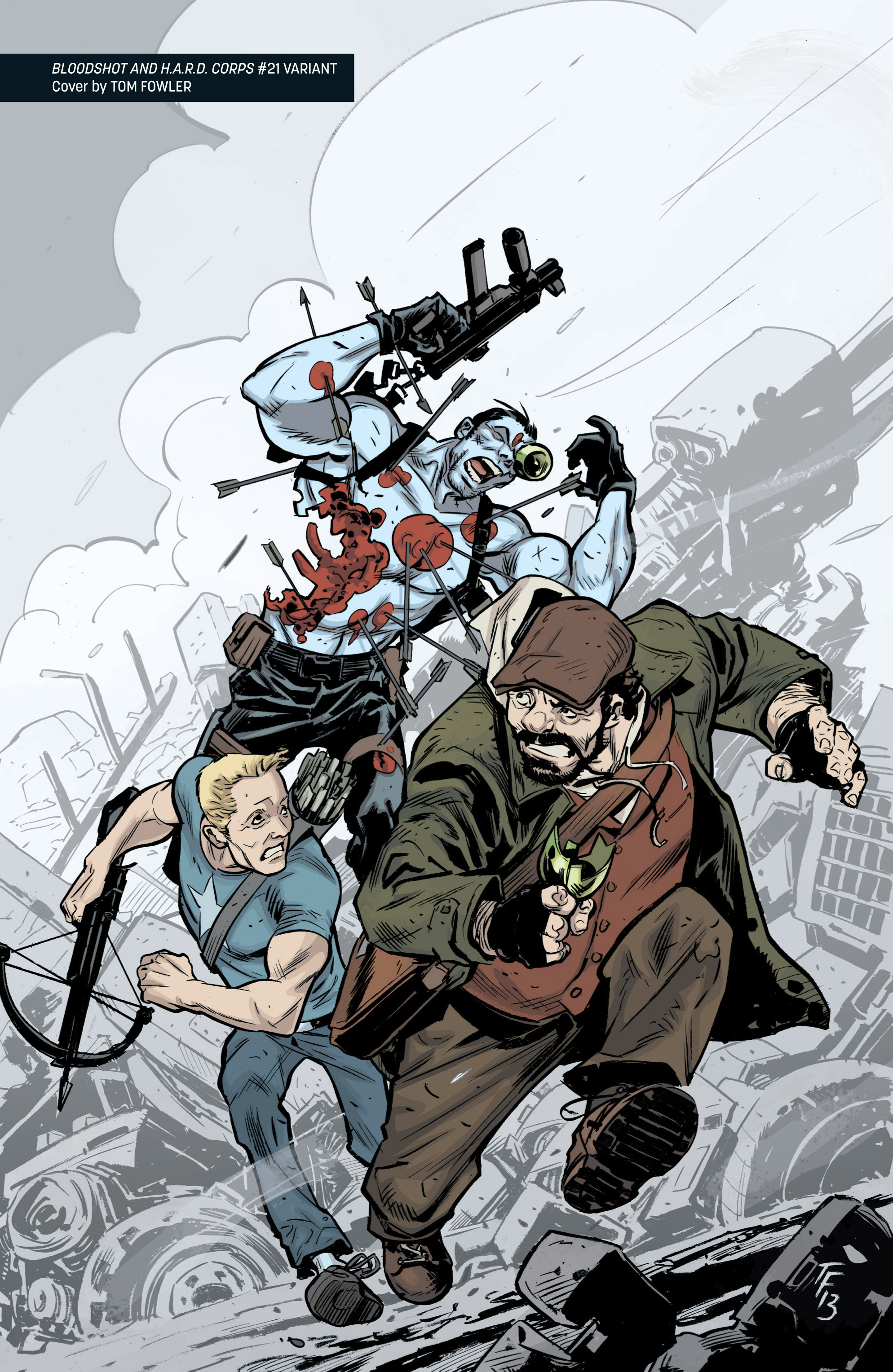 Read online Archer and Armstrong comic -  Issue #Archer and Armstrong _TPB 5 - 128