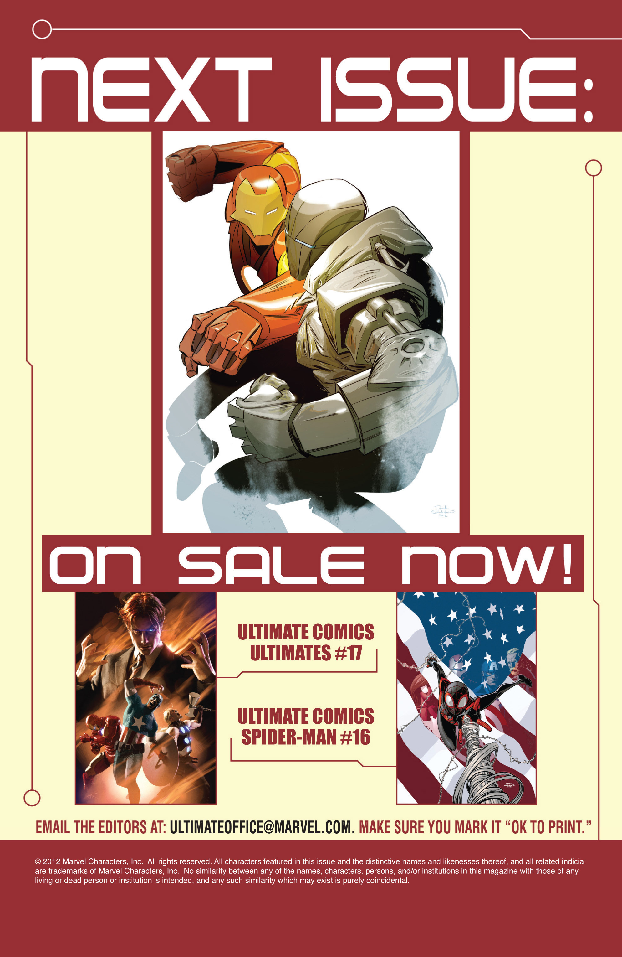 Read online Ultimate Comics Iron Man comic -  Issue #1 - 22
