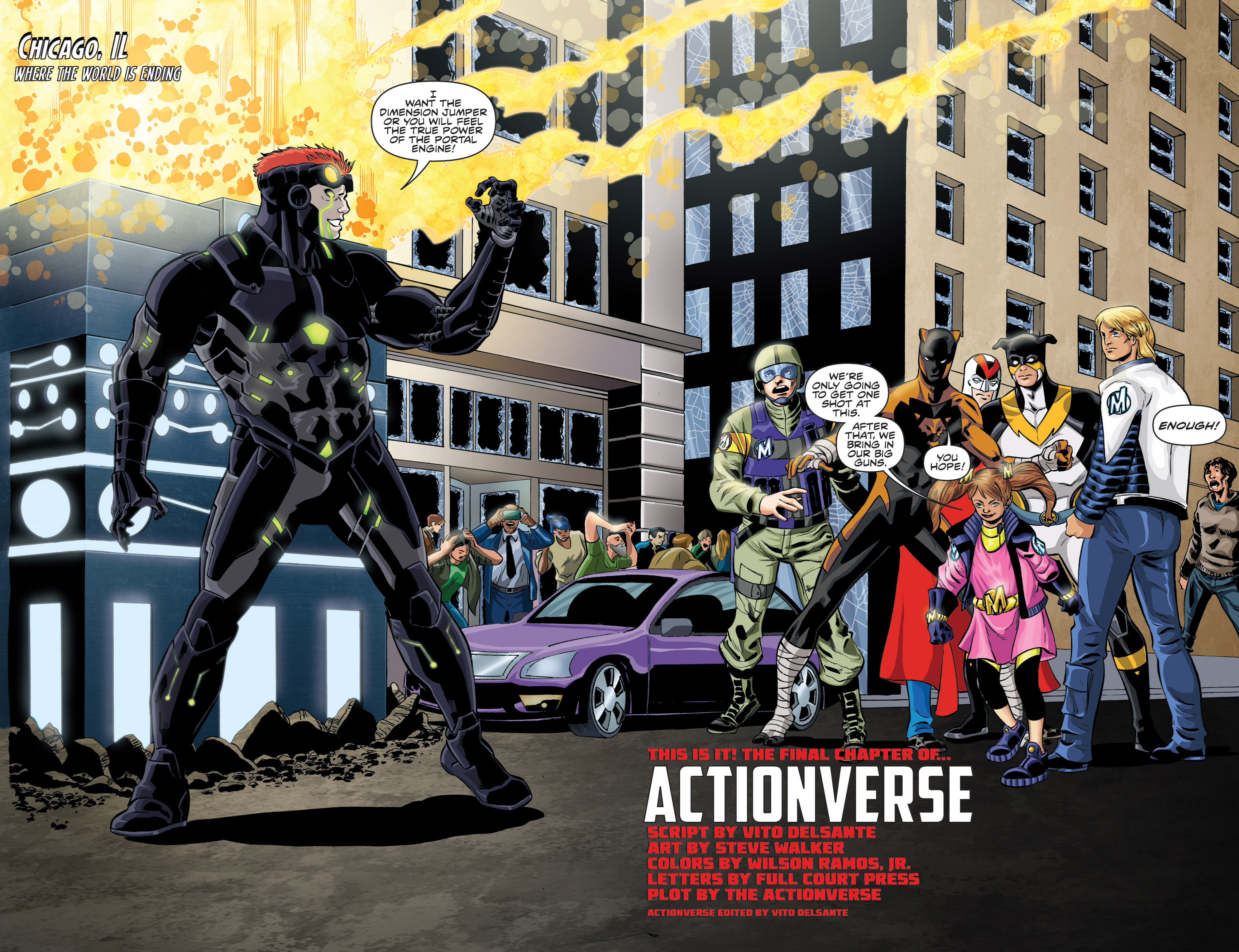 Read online Actionverse comic -  Issue #6 - 4