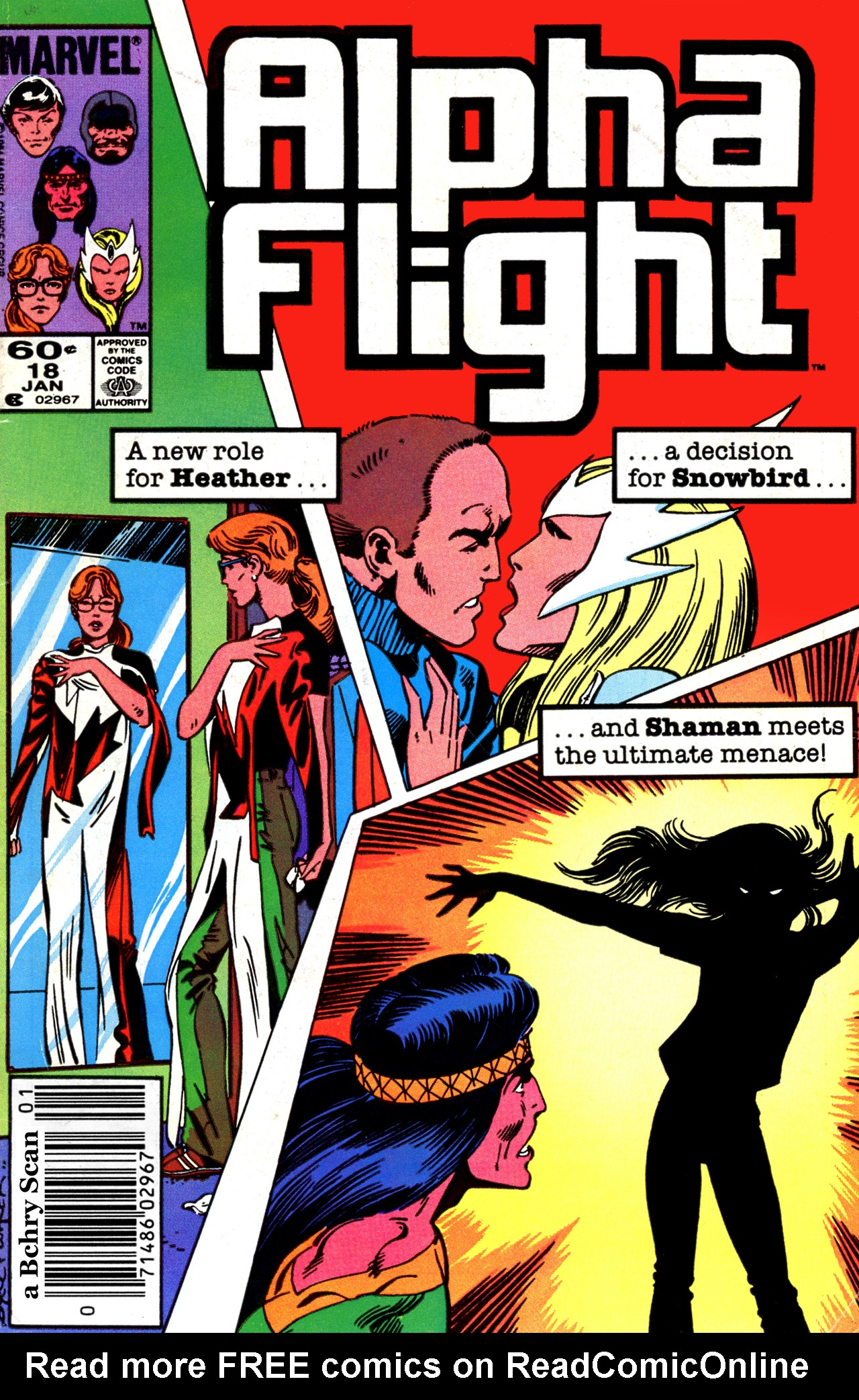 Alpha Flight (1983) 18 Page 1