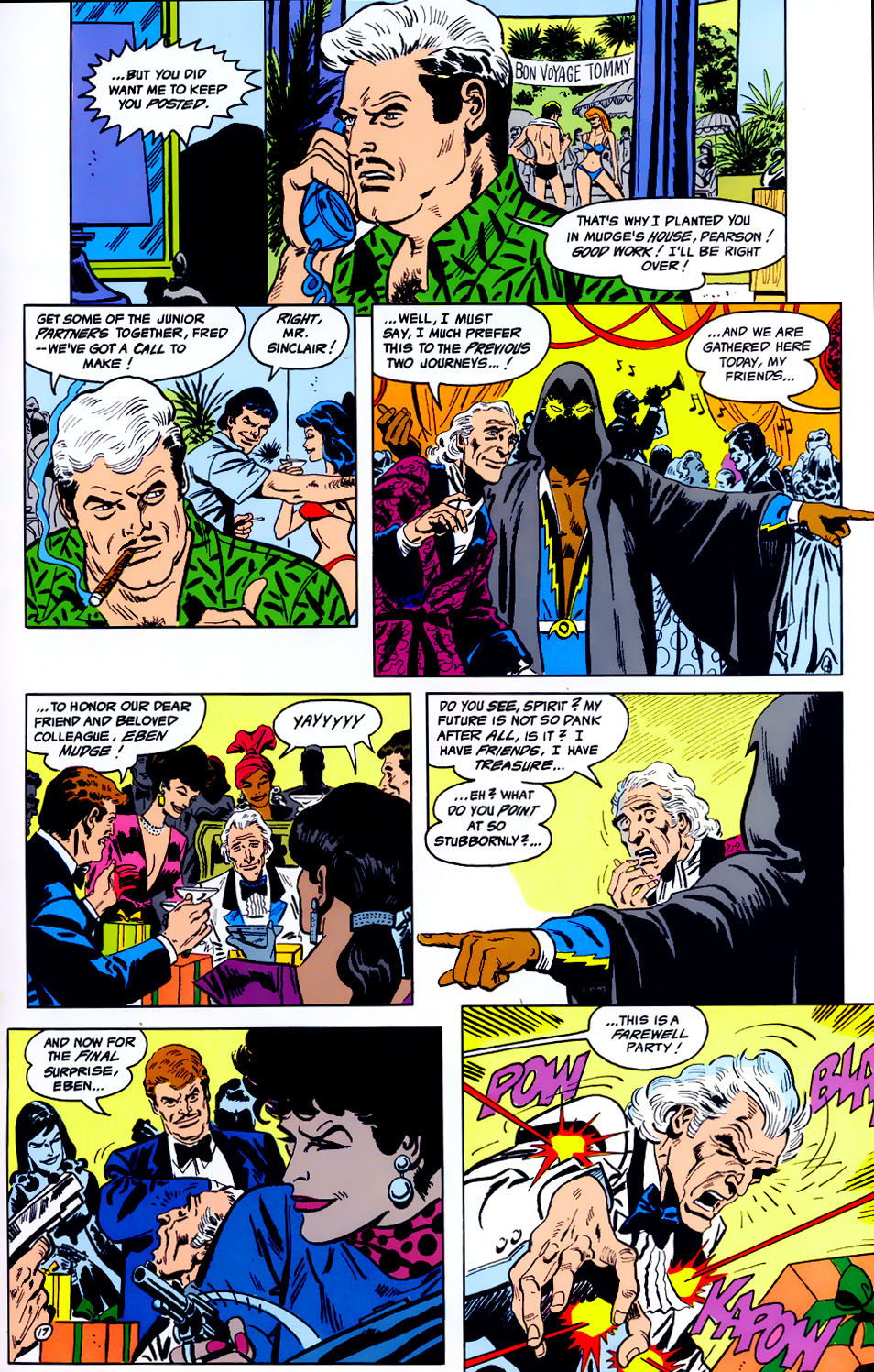 Read online Adventures of the Outsiders comic -  Issue #43 - 18