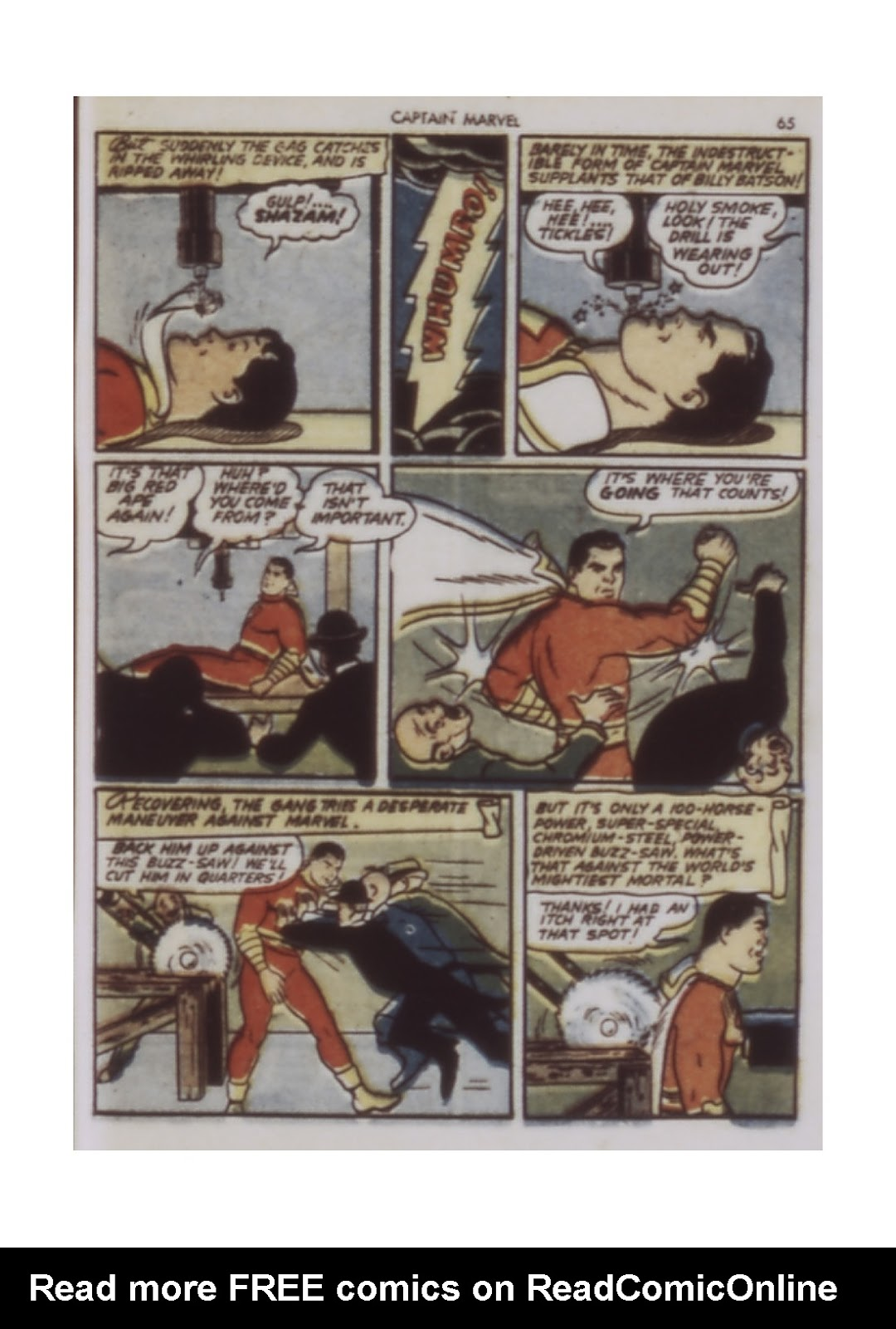 Captain Marvel Adventures issue 9 - Page 65