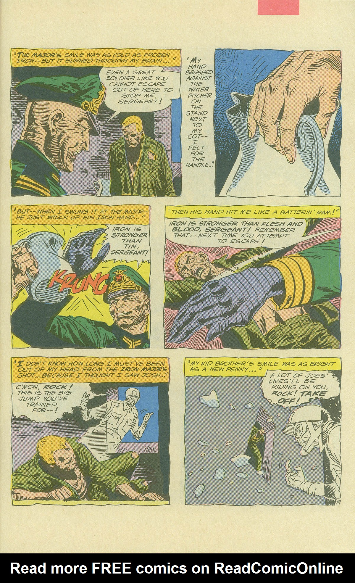 Read online Sgt. Rock comic -  Issue #404 - 27