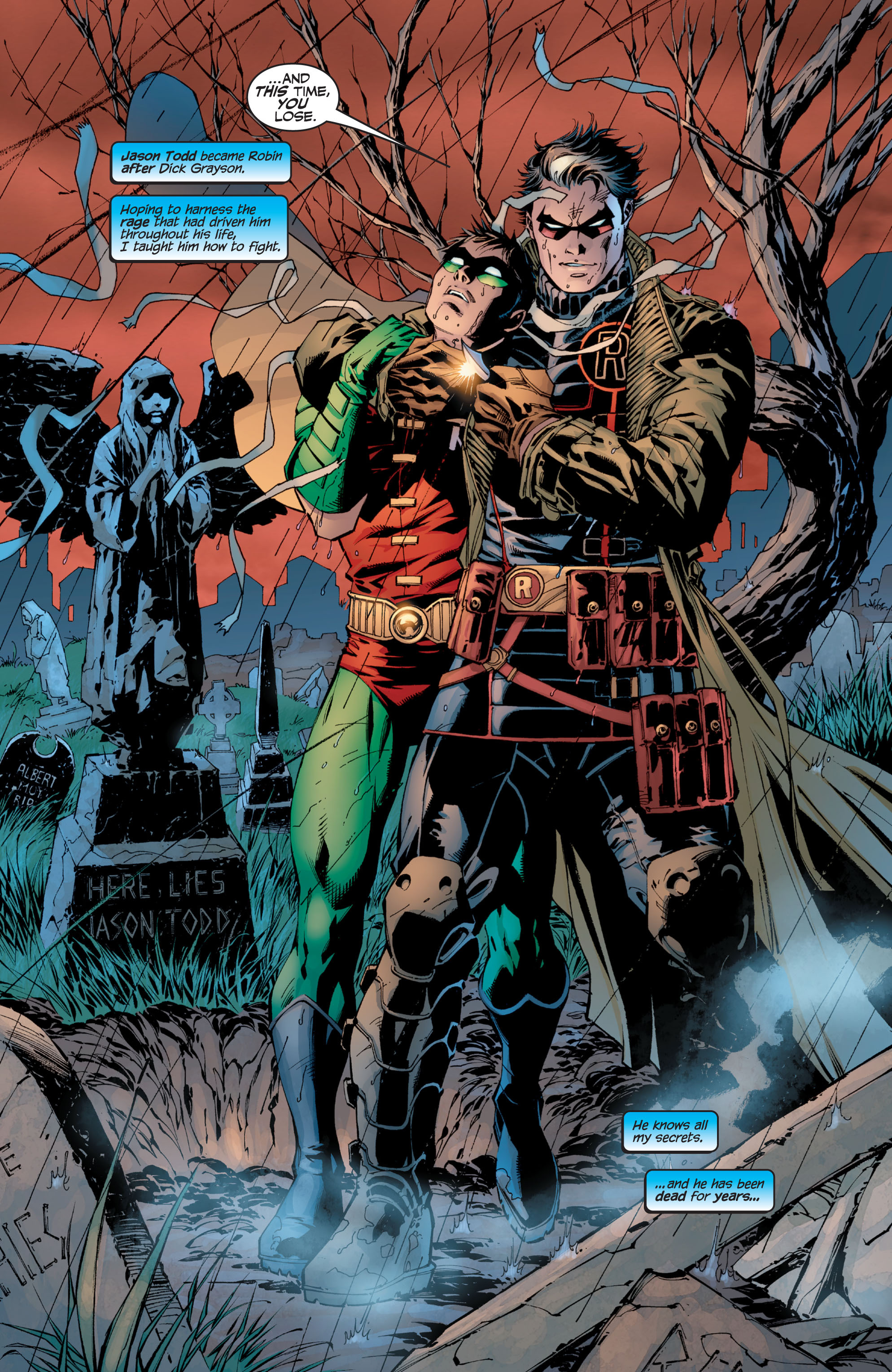 Read online Batman: Under The Red Hood comic -  Issue # Full - 362