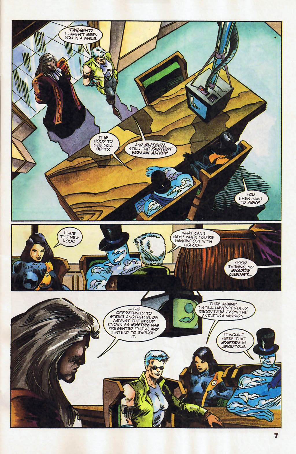 Read online Shadow Cabinet comic -  Issue #12 - 6