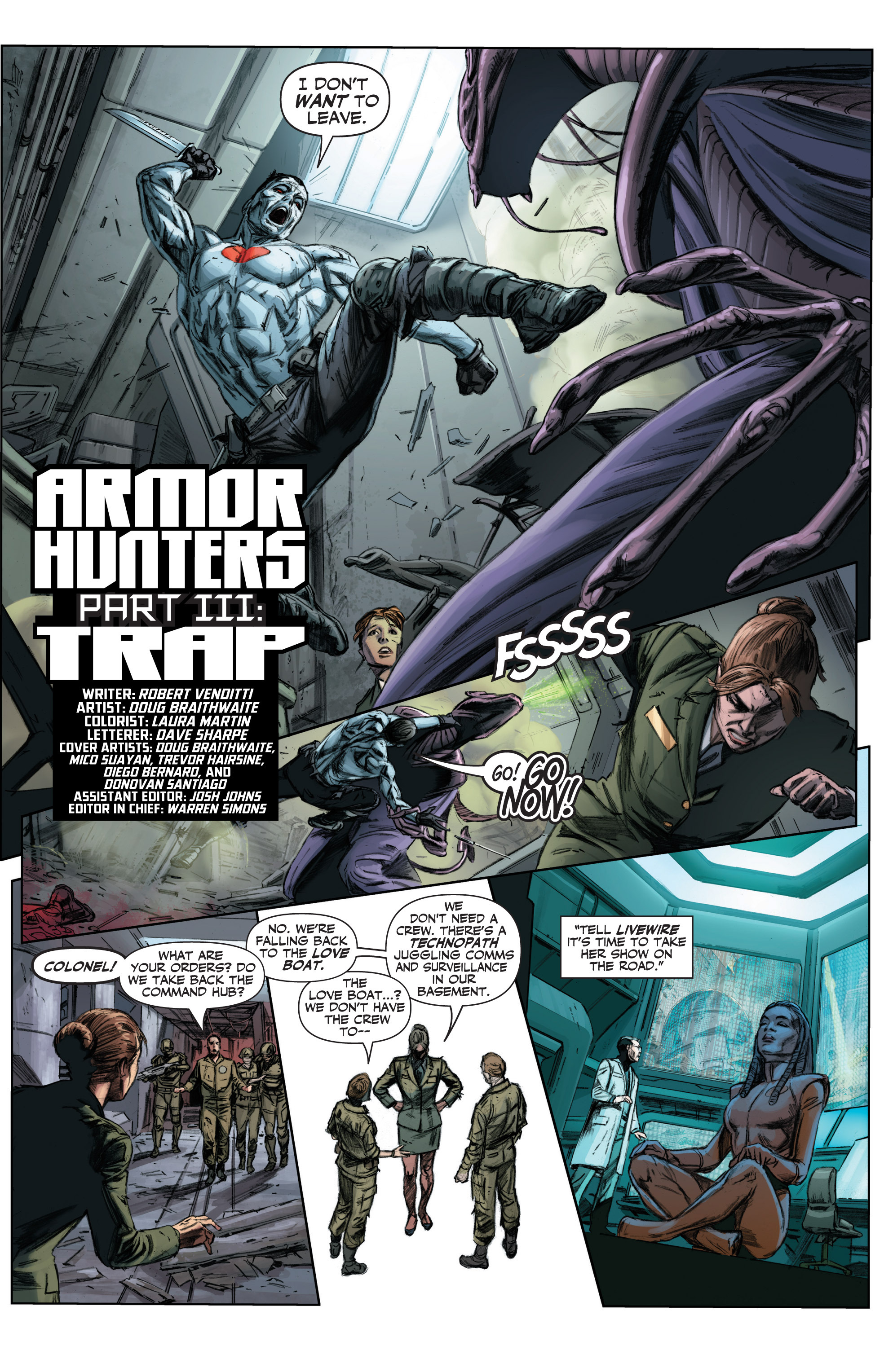 Read online Armor Hunters comic -  Issue #3 - 4