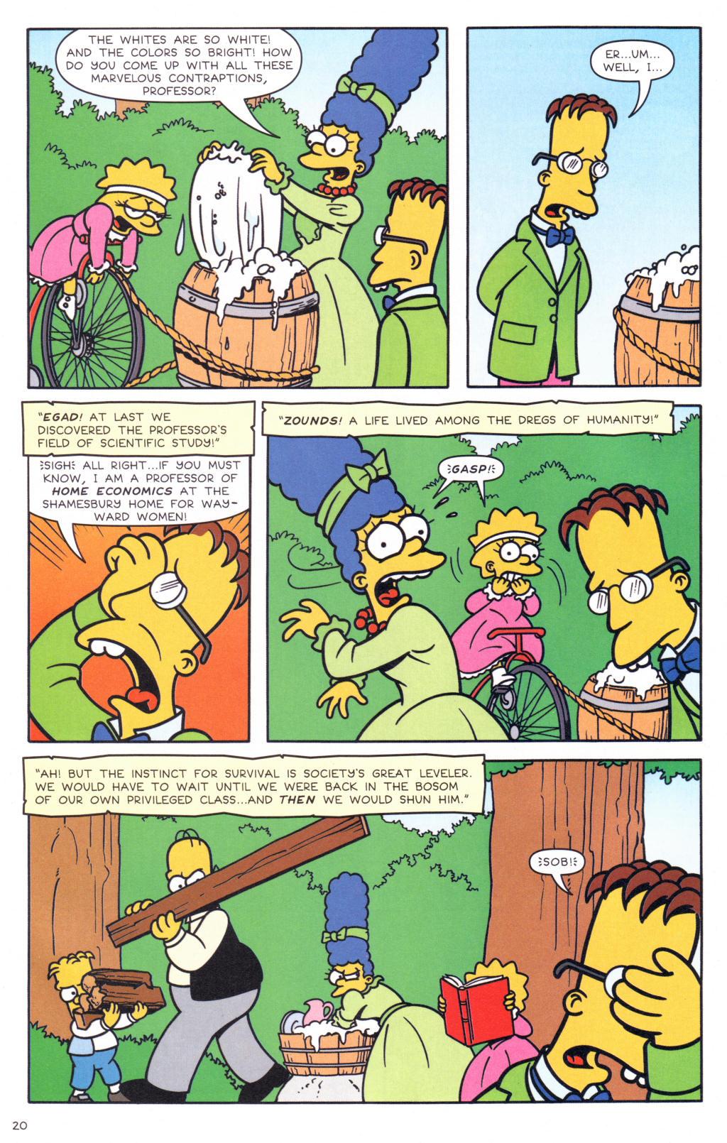 Read online Simpsons Comics comic -  Issue #127 - 17