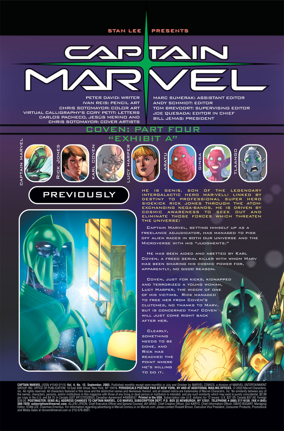 Captain Marvel (2002) Issue #12 #12 - English 2