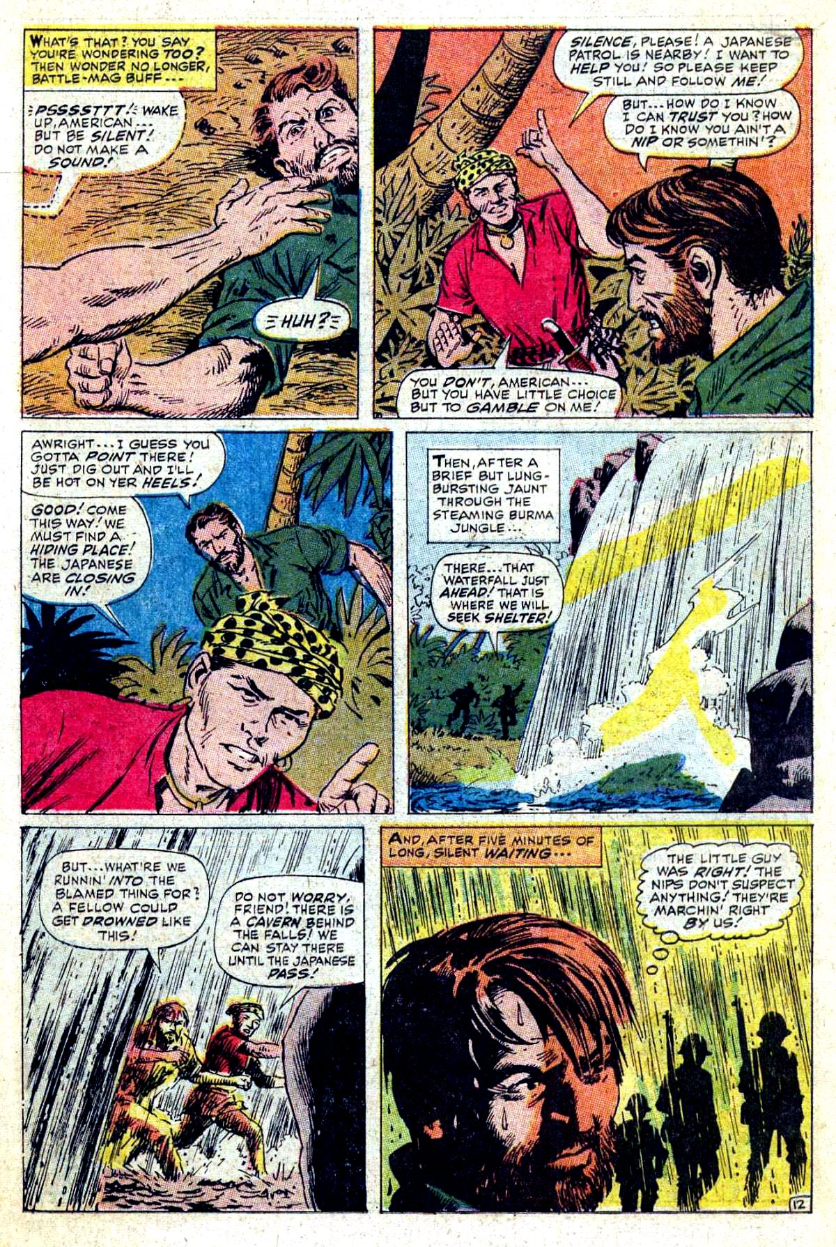 Read online Sgt. Fury comic -  Issue #54 - 18