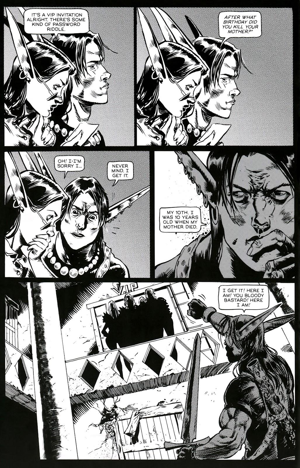 Read online Poison Elves (2013) comic -  Issue #3 - 10