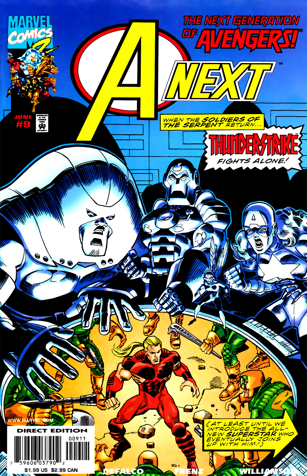 Read online A-Next comic -  Issue #9 - 1