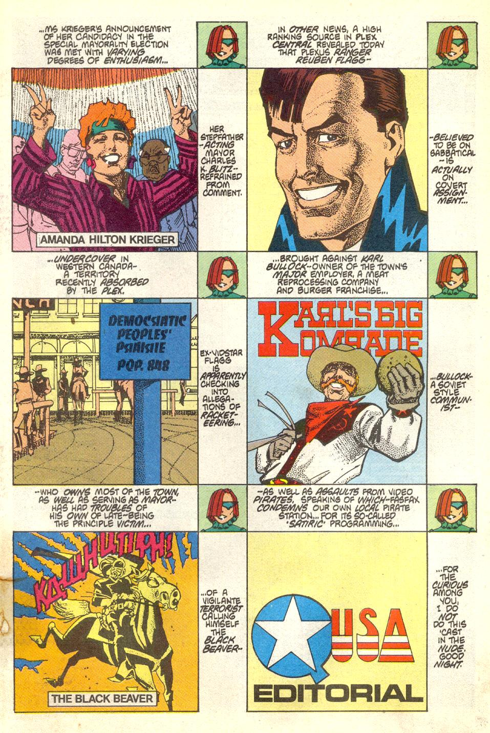 Read online American Flagg! comic -  Issue #17 - 2