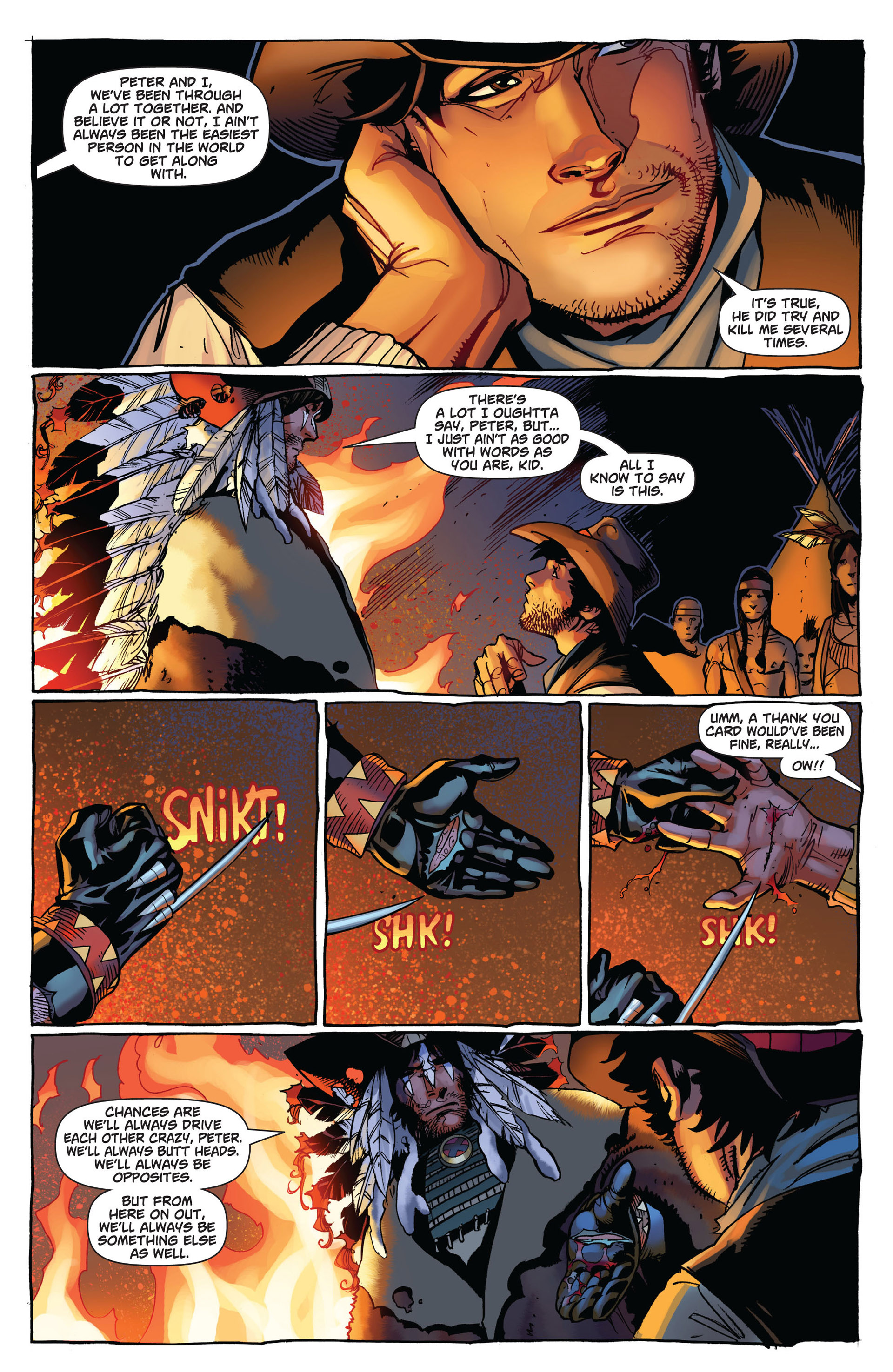 Read online Astonishing Spider-Man & Wolverine comic -  Issue #6 - 8