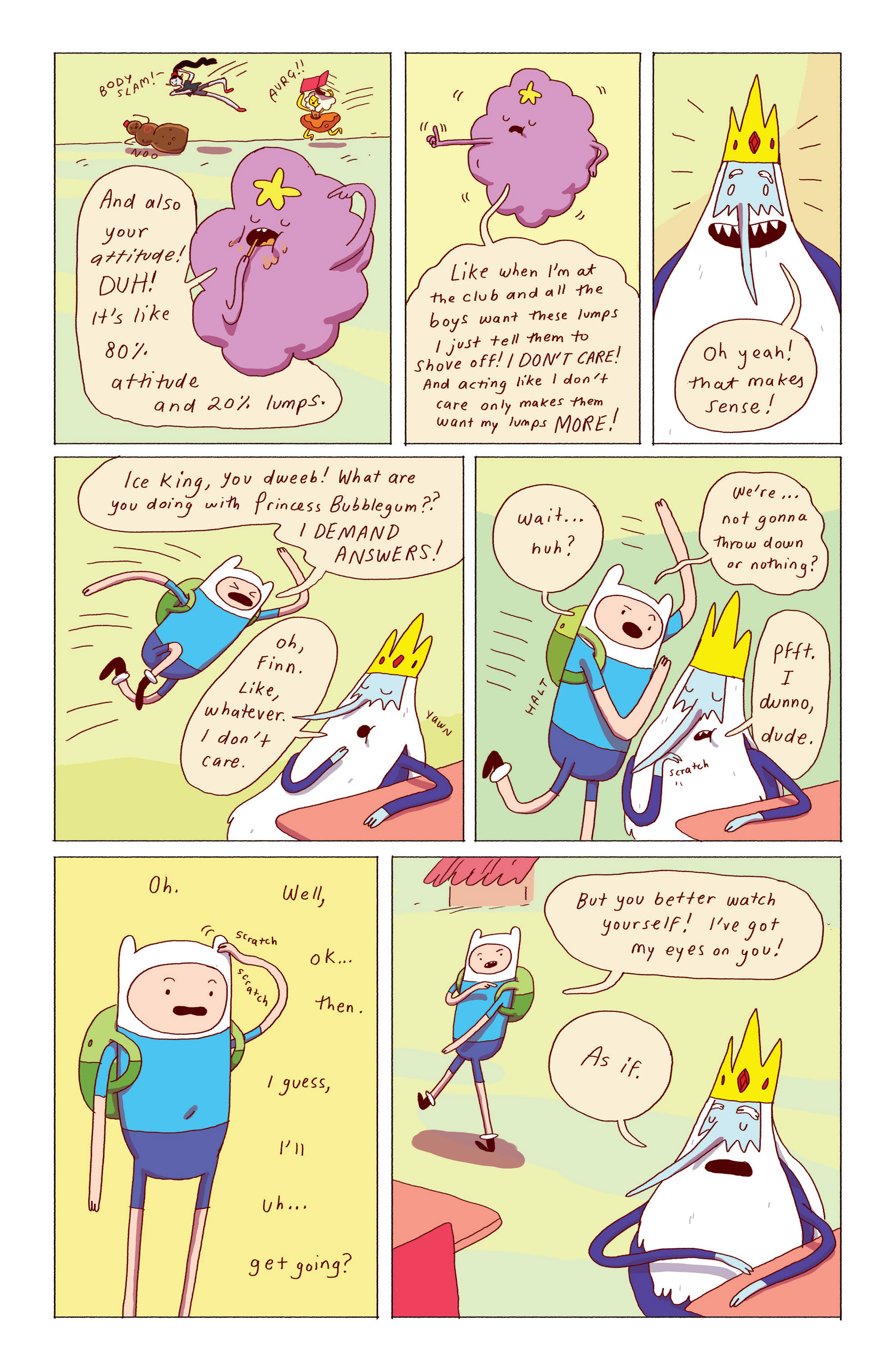 Read online Adventure Time: Ice King comic -  Issue #2 - 22