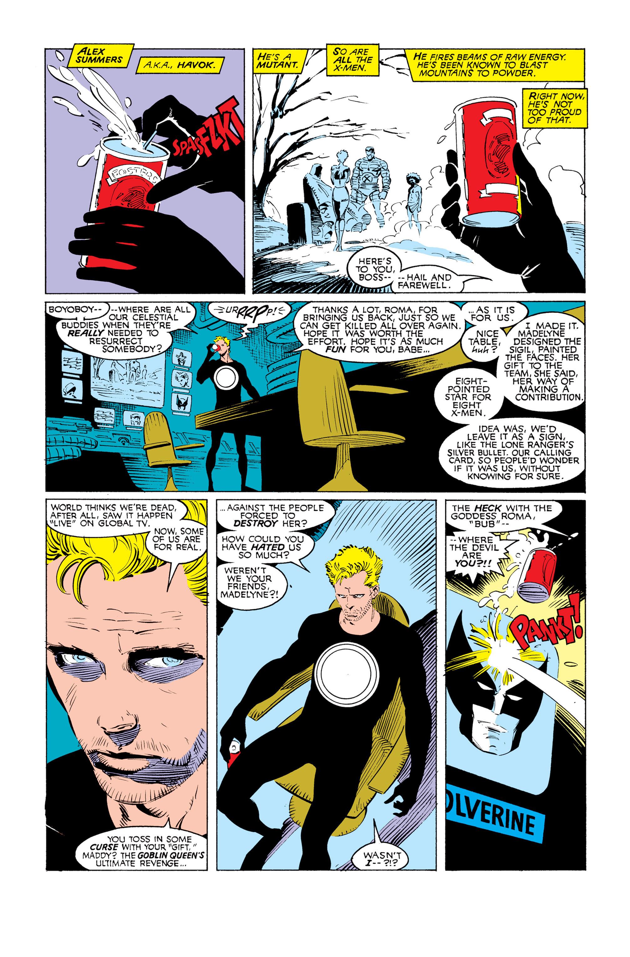 Read online Uncanny X-Men (1963) comic -  Issue #249 - 4