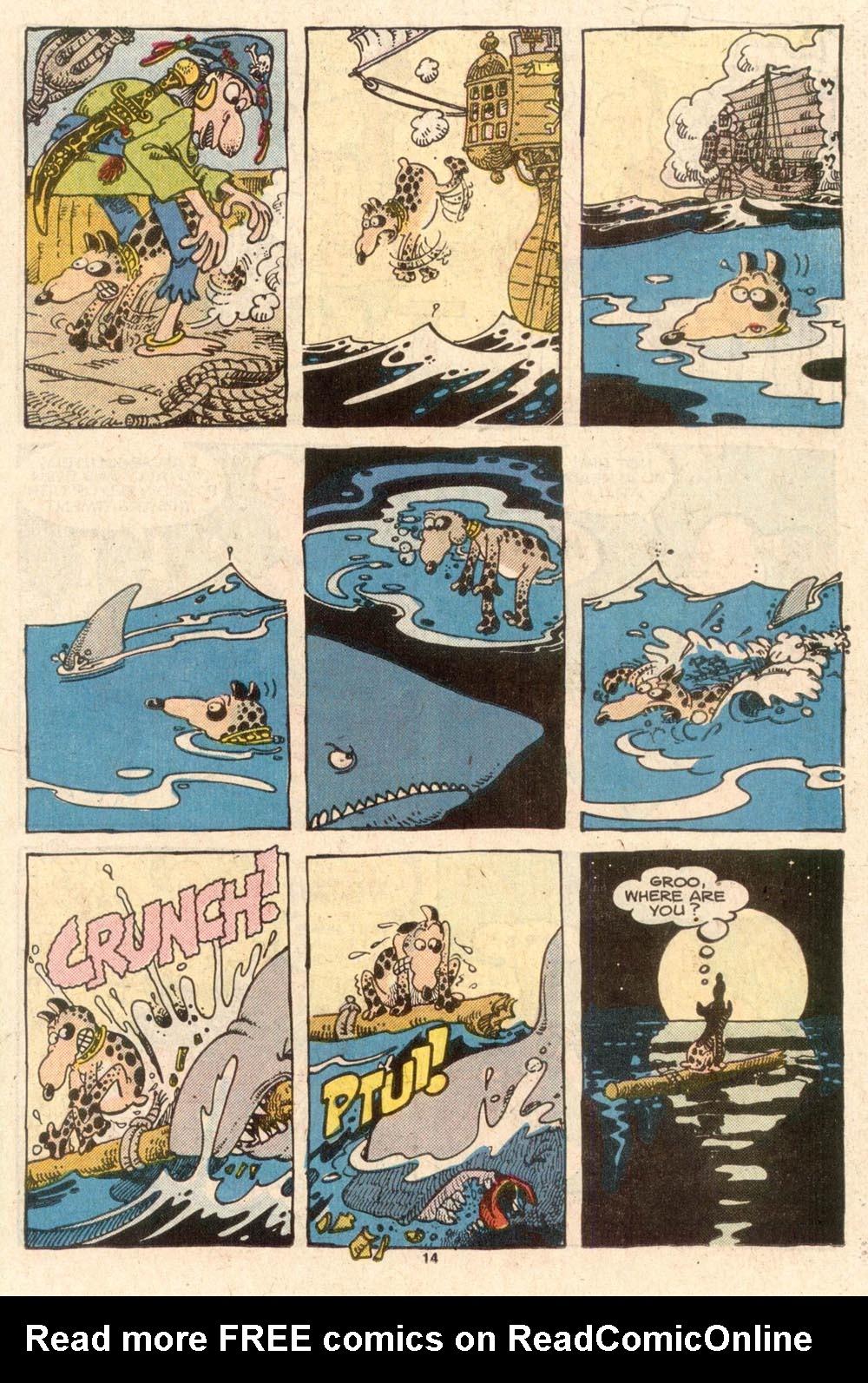 Read online Sergio Aragonés Groo the Wanderer comic -  Issue #45 - 14