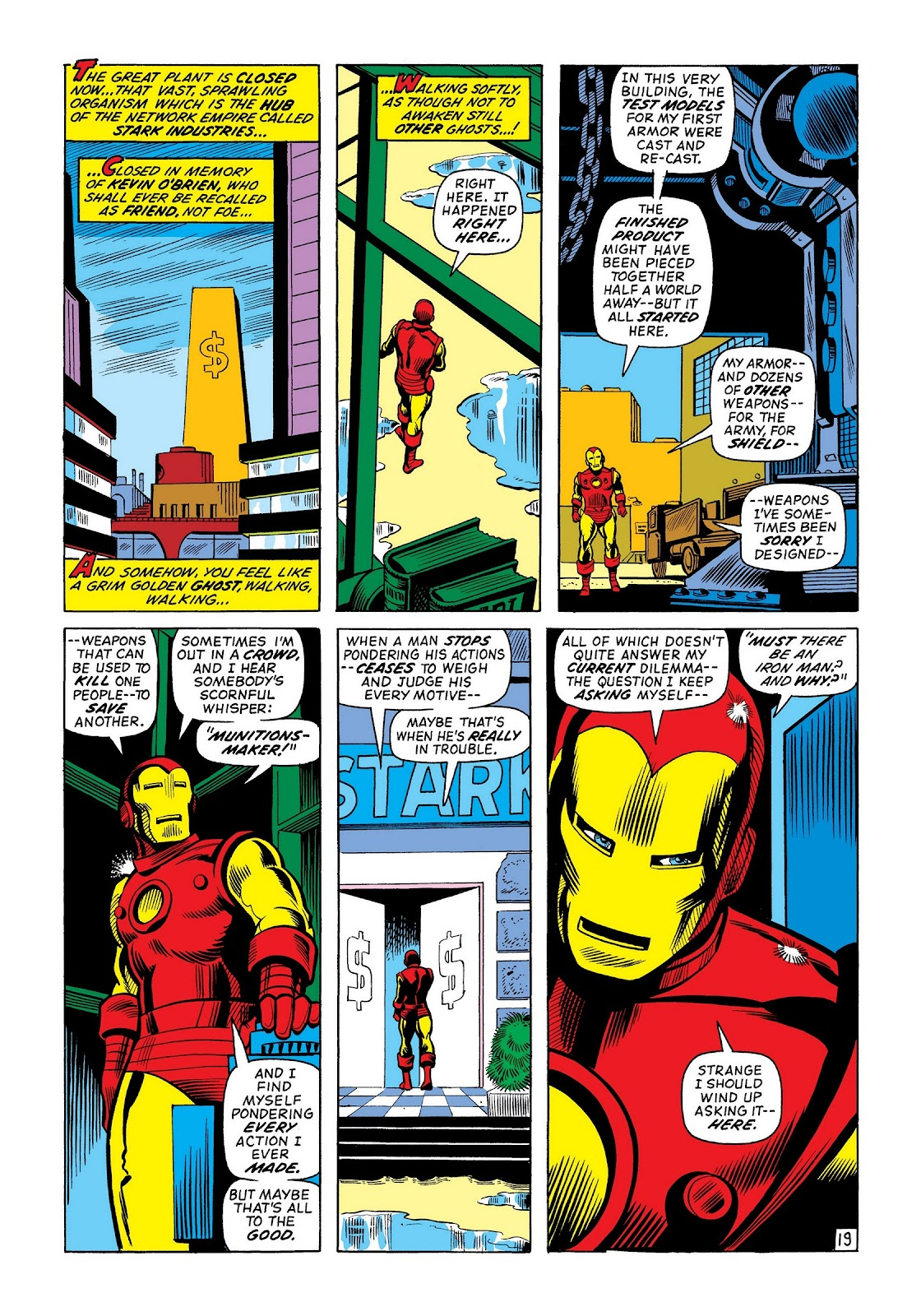 Read online Marvel Masterworks: The Invincible Iron Man comic -  Issue # TPB 8 (Part 2) - 85