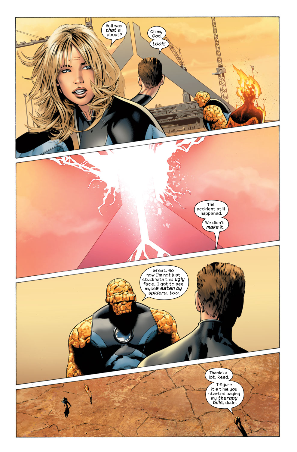 Read online Ultimate Fantastic Four (2004) comic -  Issue #29 - 21