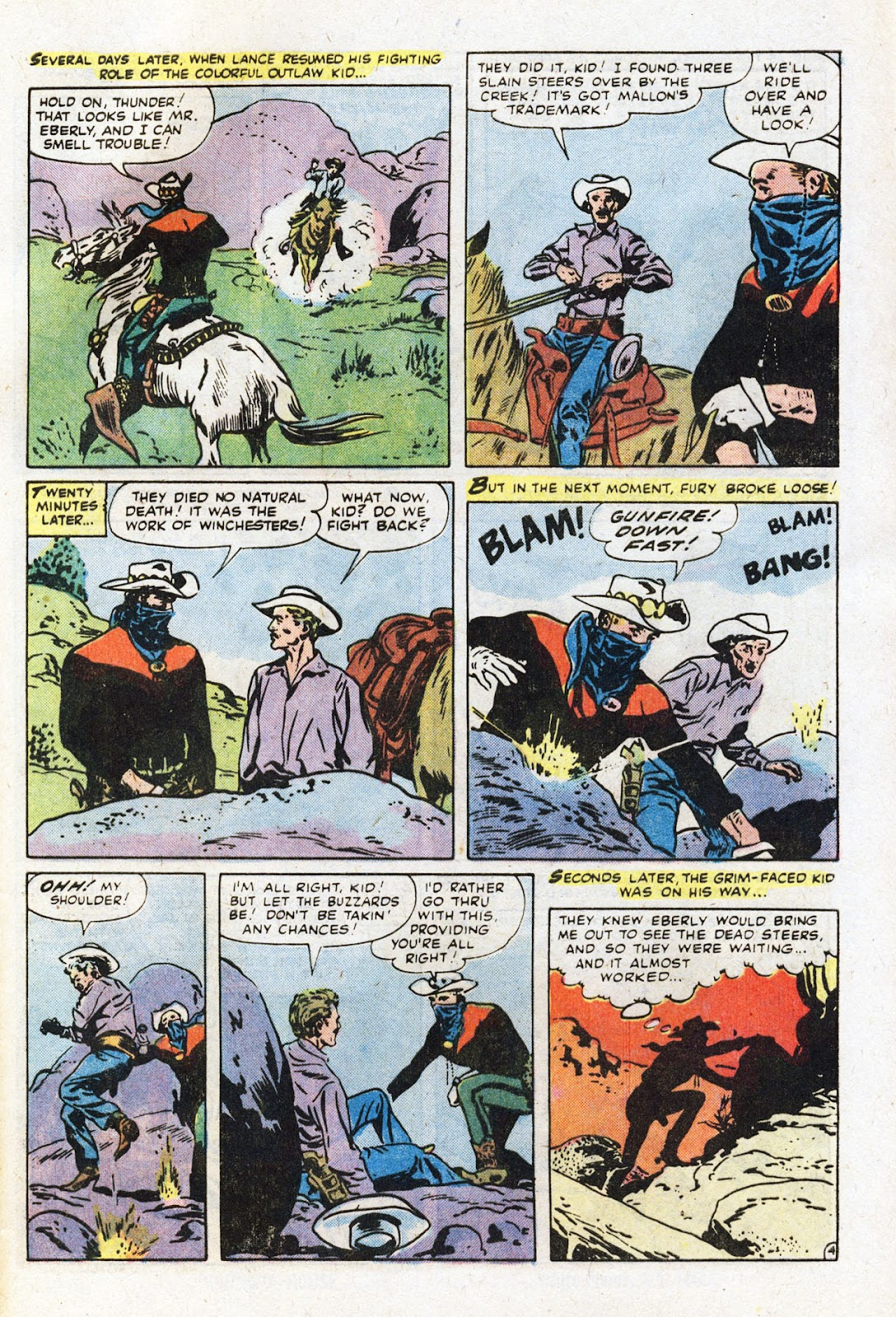 The Outlaw Kid (1970) issue 22 - Page 33