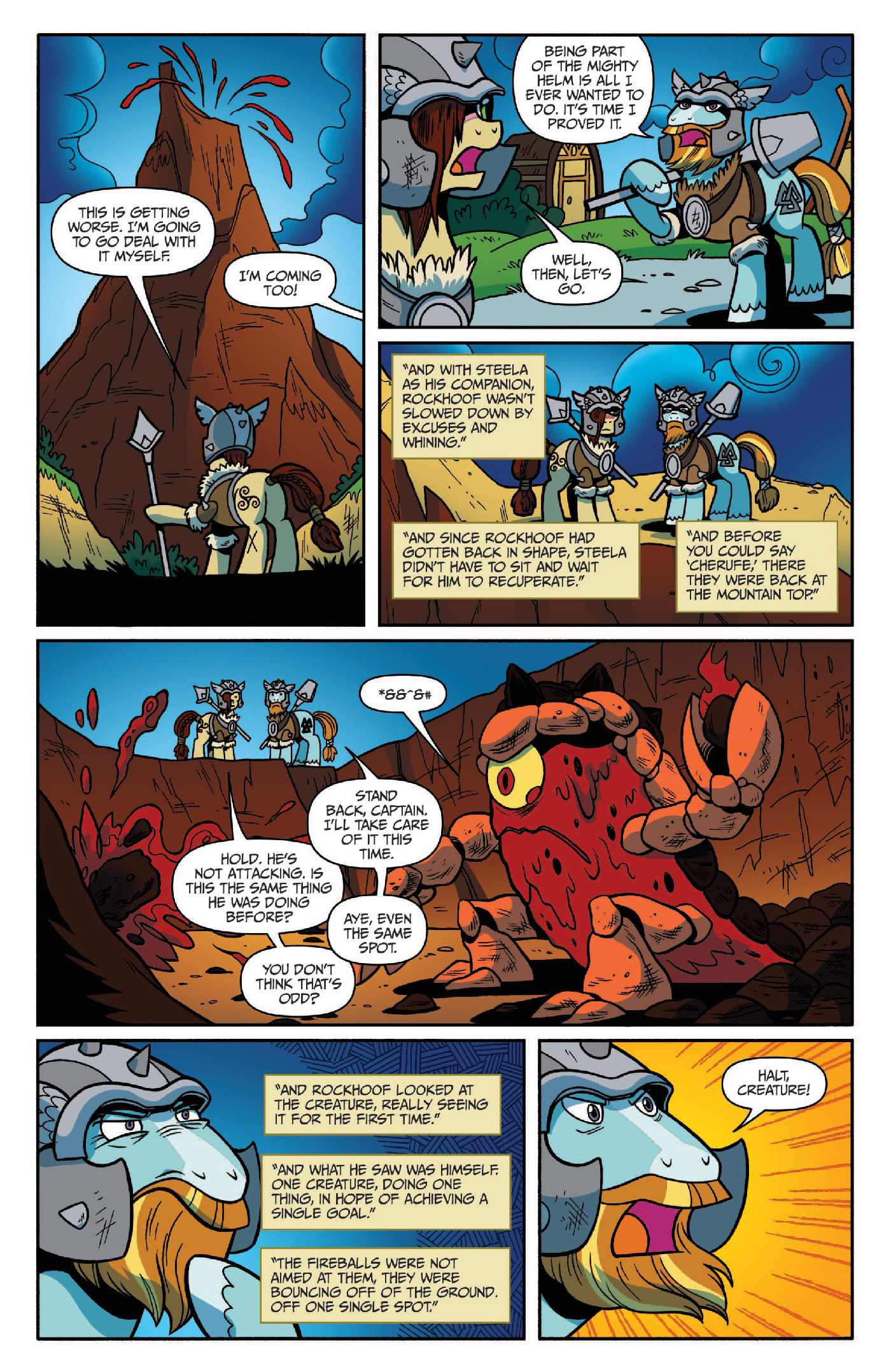 Read online My Little Pony: Legends of Magic comic -  Issue #2 - 20