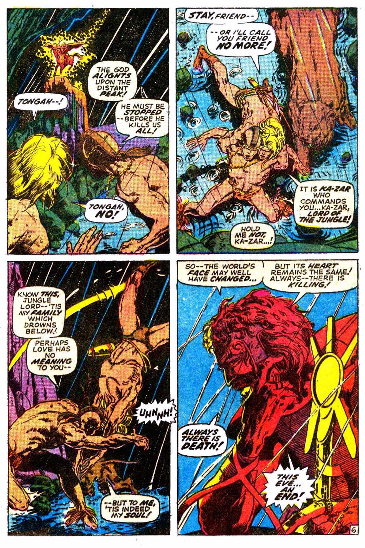 Read online Astonishing Tales (1970) comic -  Issue #6 - 17