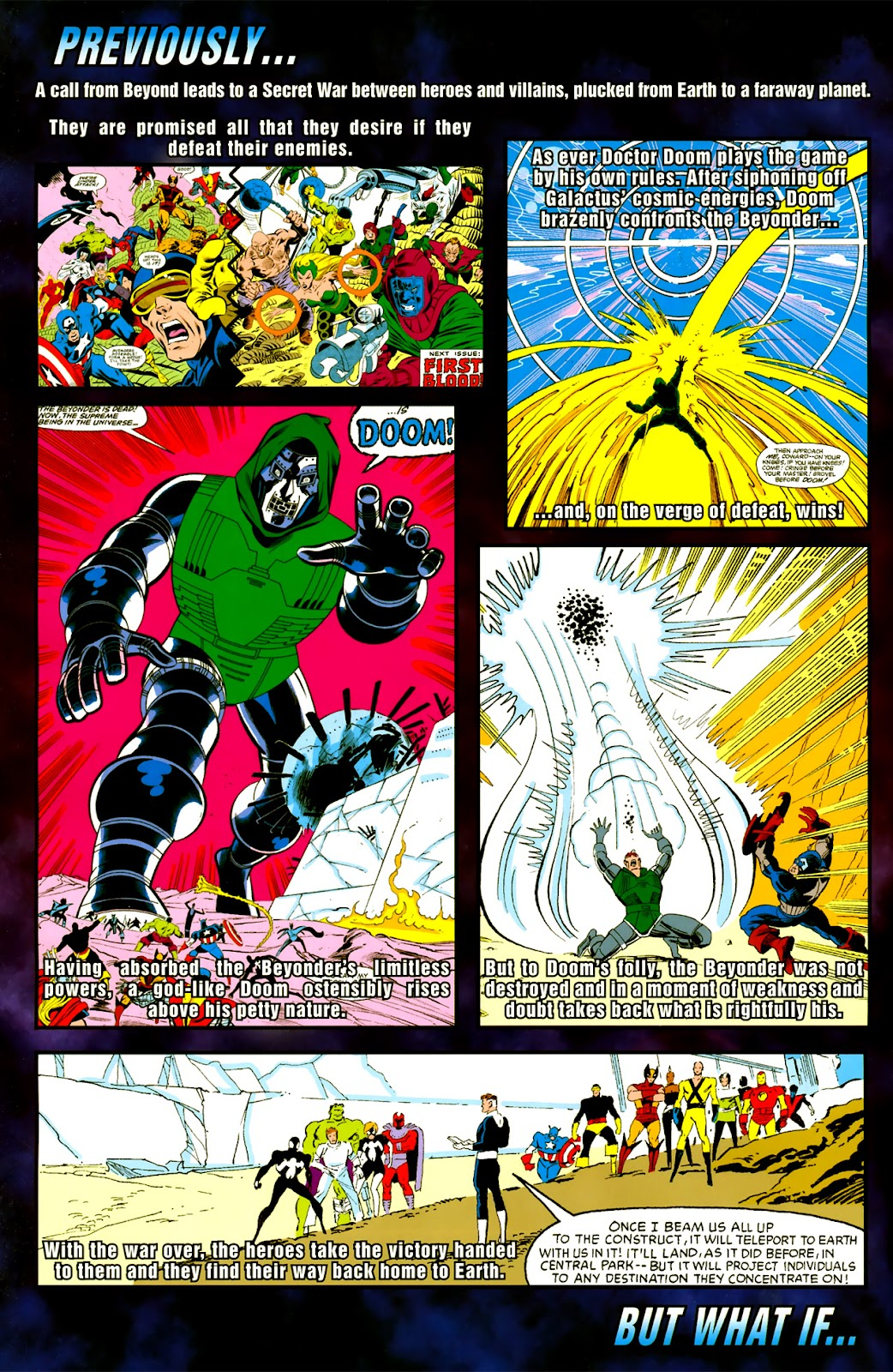 Read online What If? Secret Wars comic -  Issue # Full - 3
