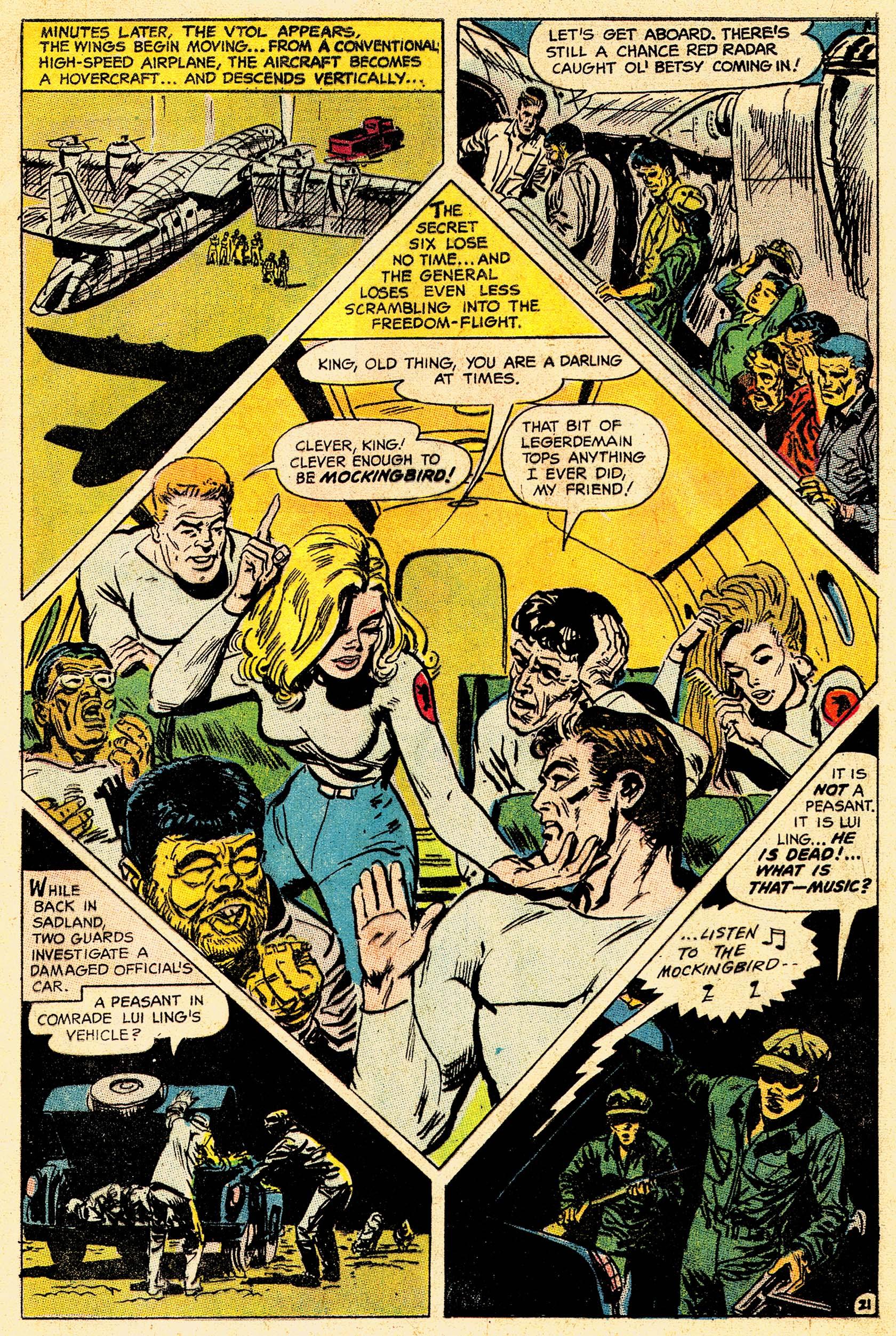 Read online Secret Six (1968) comic -  Issue #4 - 28