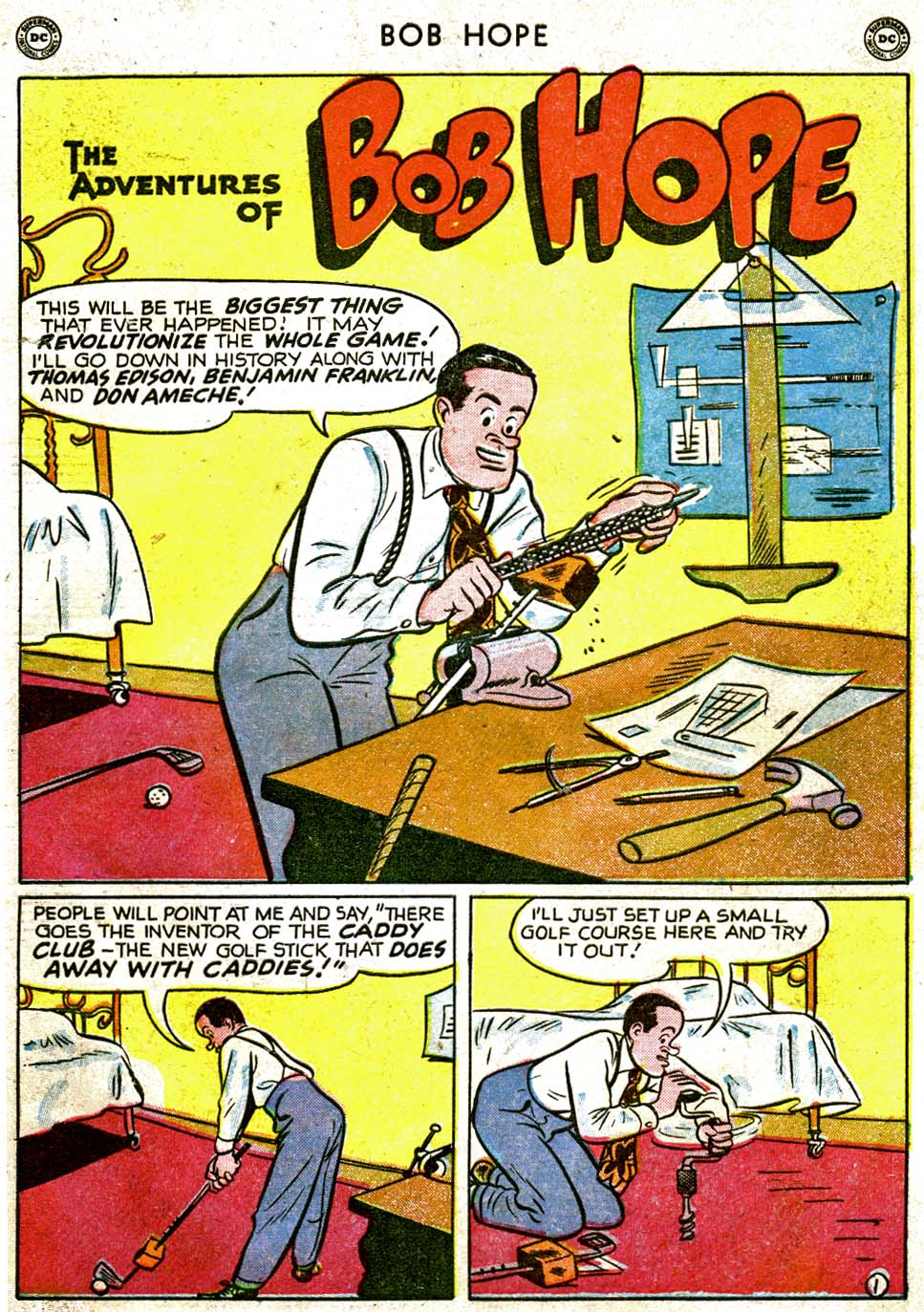 The Adventures of Bob Hope issue 1 - Page 3