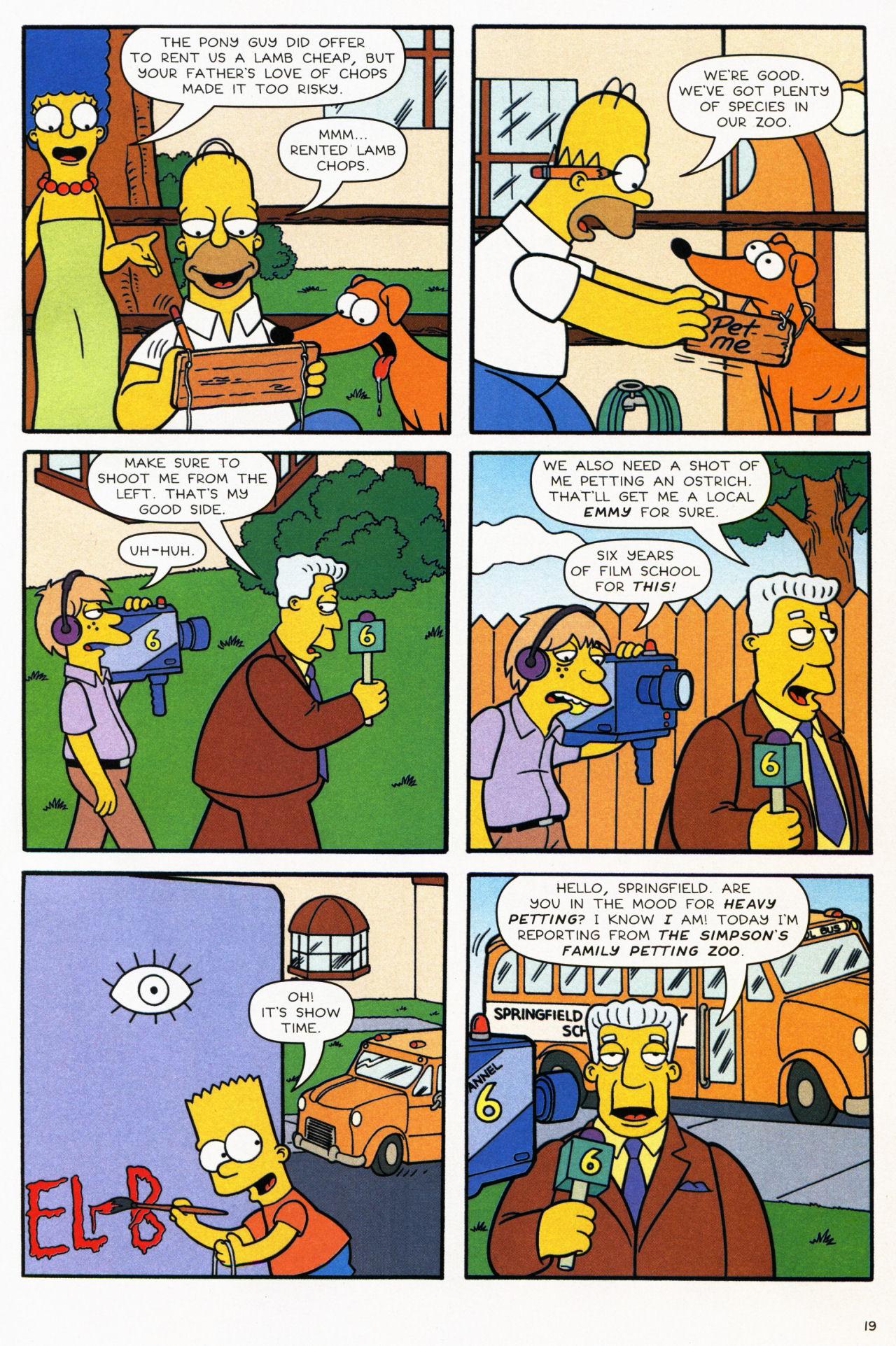 Read online Simpsons Comics comic -  Issue #139 - 17