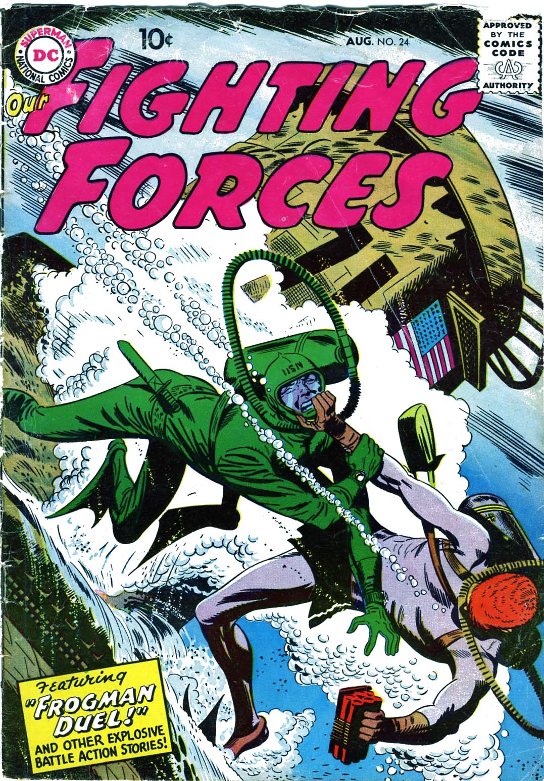 Our Fighting Forces (1954) issue 24 - Page 1