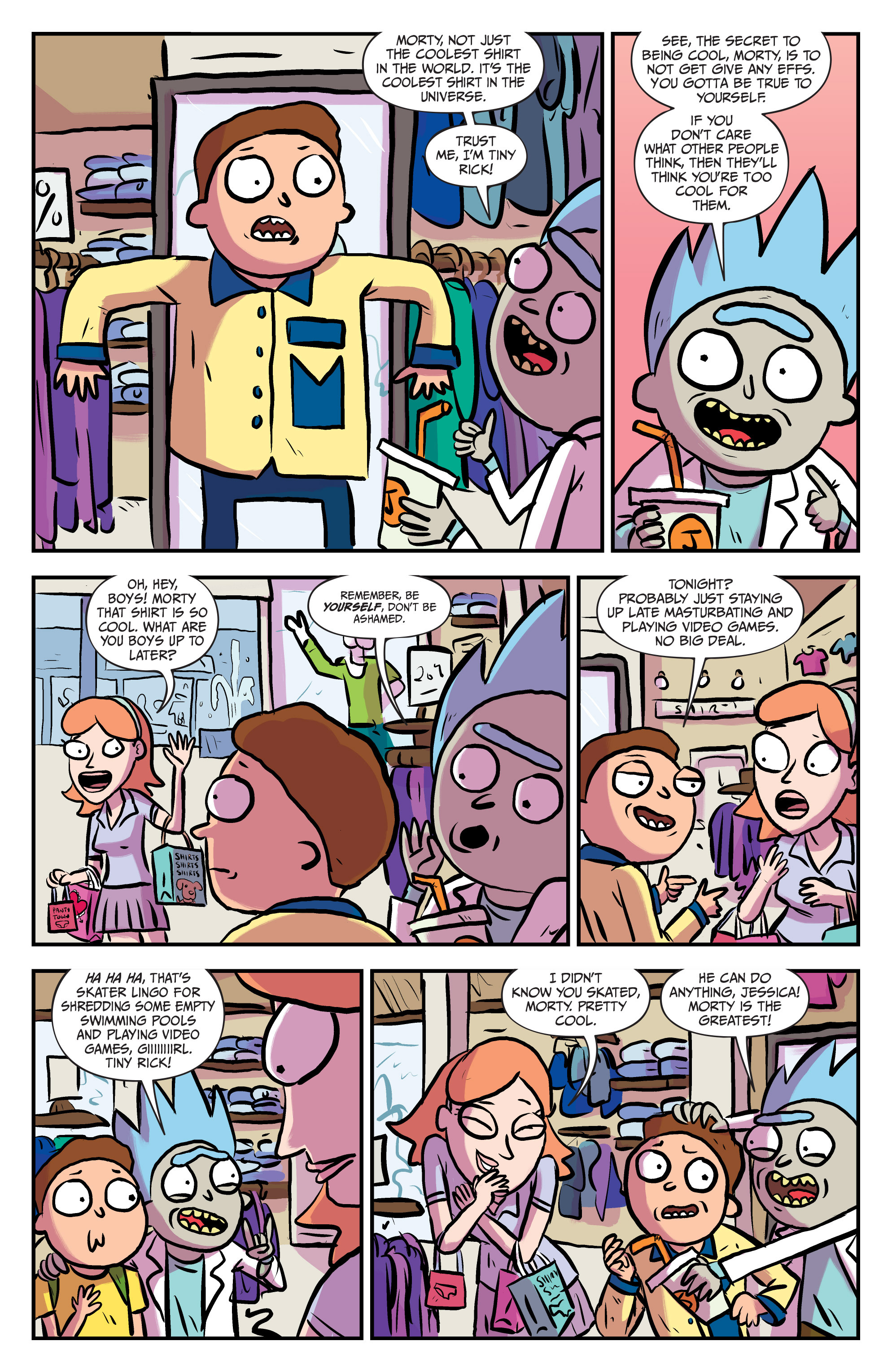 Read online Rick and Morty comic -  Issue #25 - 9