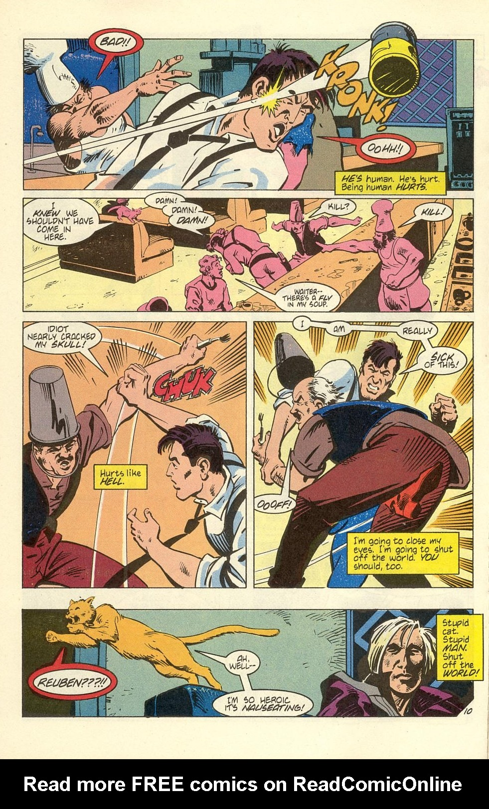 Read online American Flagg! comic -  Issue #40 - 12