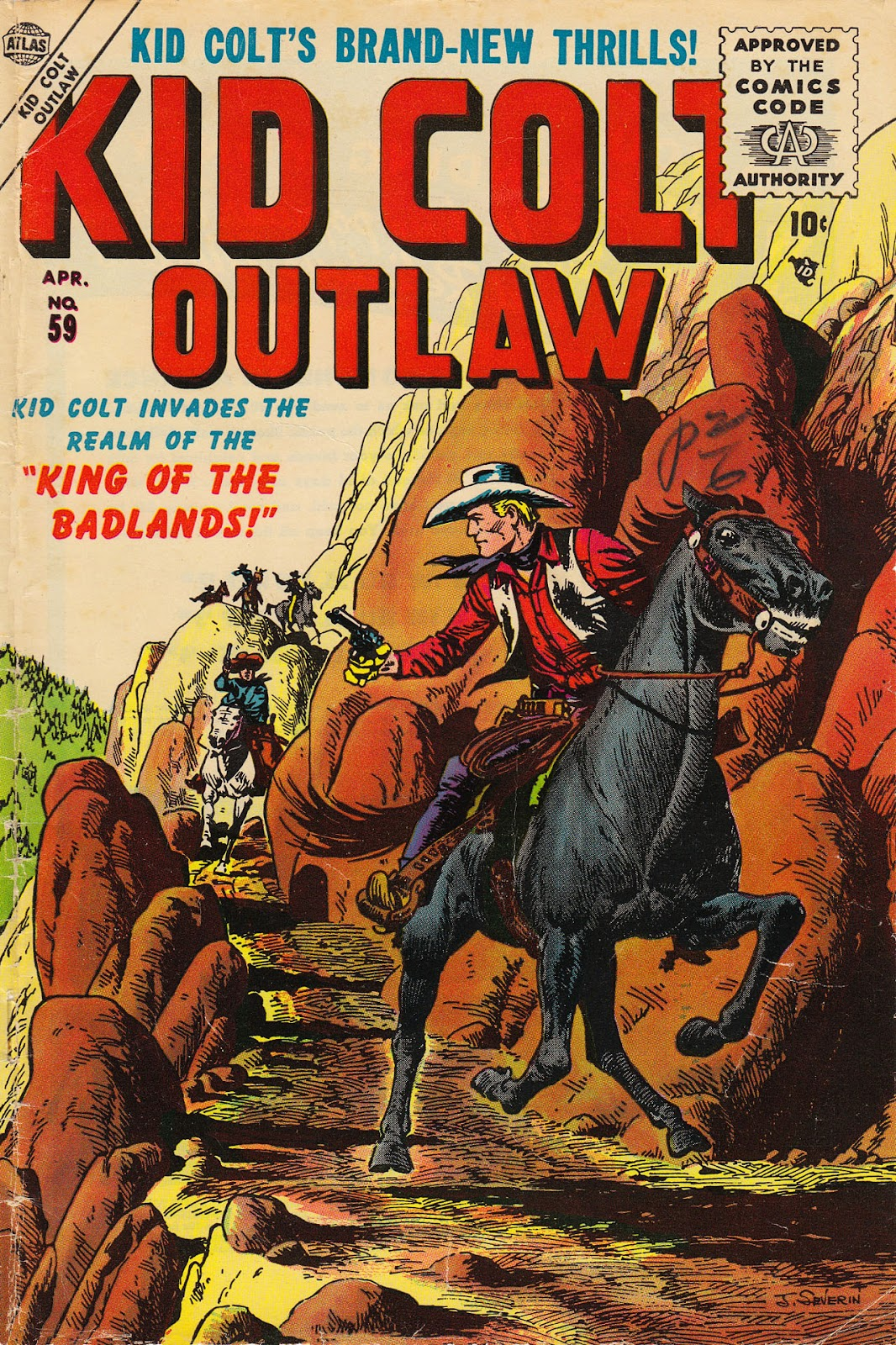 Kid Colt Outlaw issue 59 - Page 1