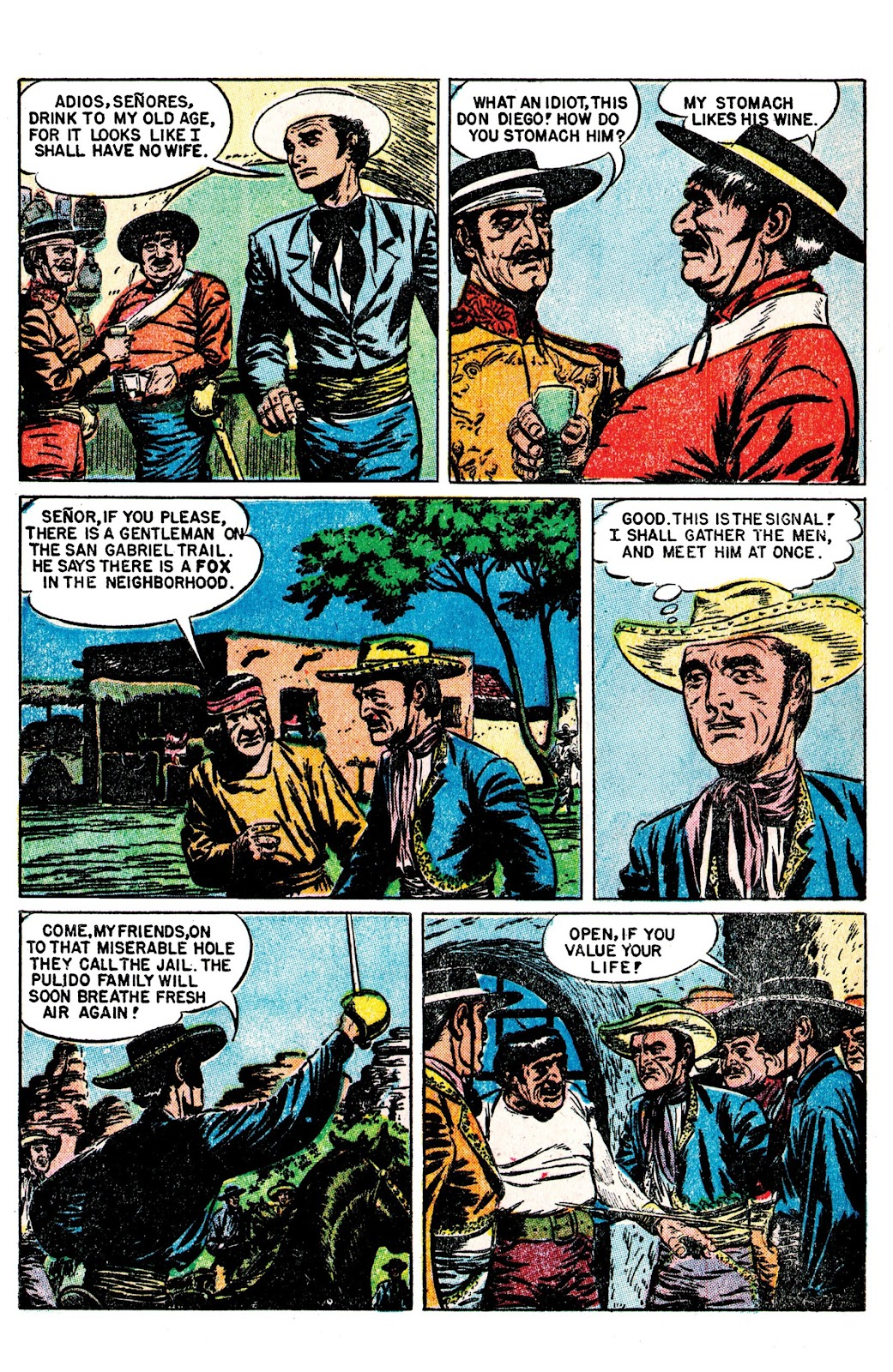 Read online AM Archives: The Mark of Zorro #1 1949 Dell Edition comic -  Issue #1 1949 Dell Edition Full - 28