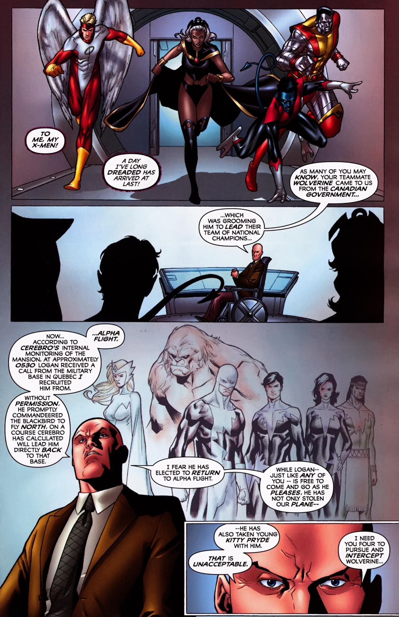 Read online Wolverine: First Class comic -  Issue #5 - 2