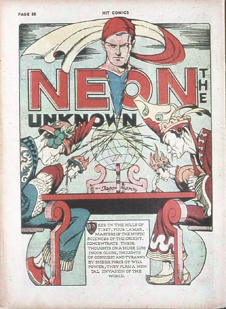 Read online Hit Comics comic -  Issue #7 - 60