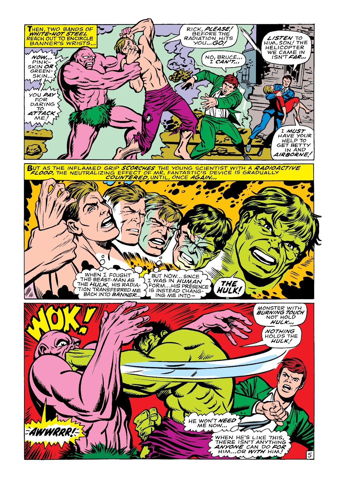 Read online Marvel Masterworks: The Incredible Hulk comic -  Issue # TPB 4 (Part 1) - 75