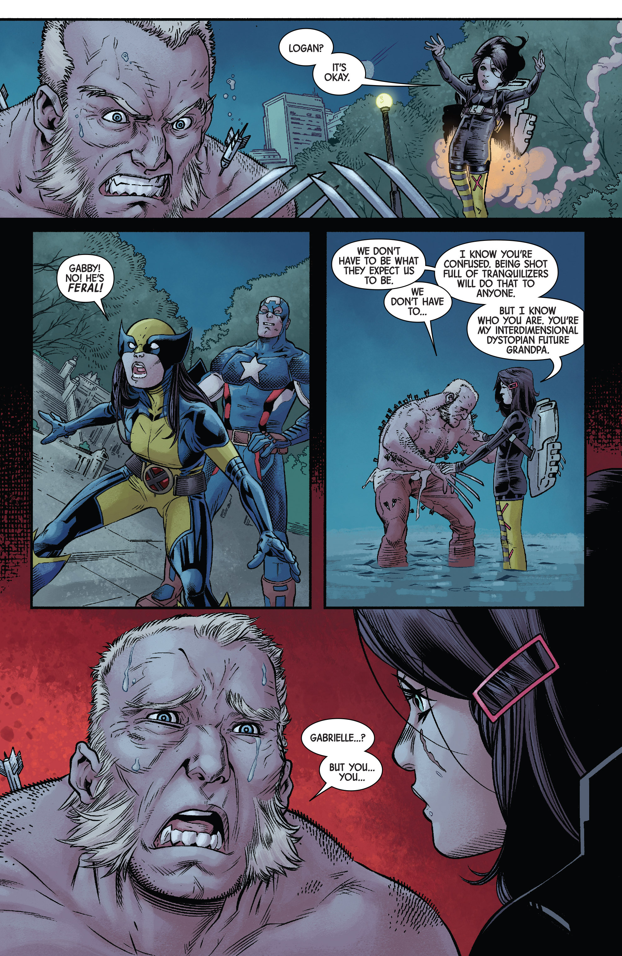 Read online All-New Wolverine (2016) comic -  Issue #11 - 21