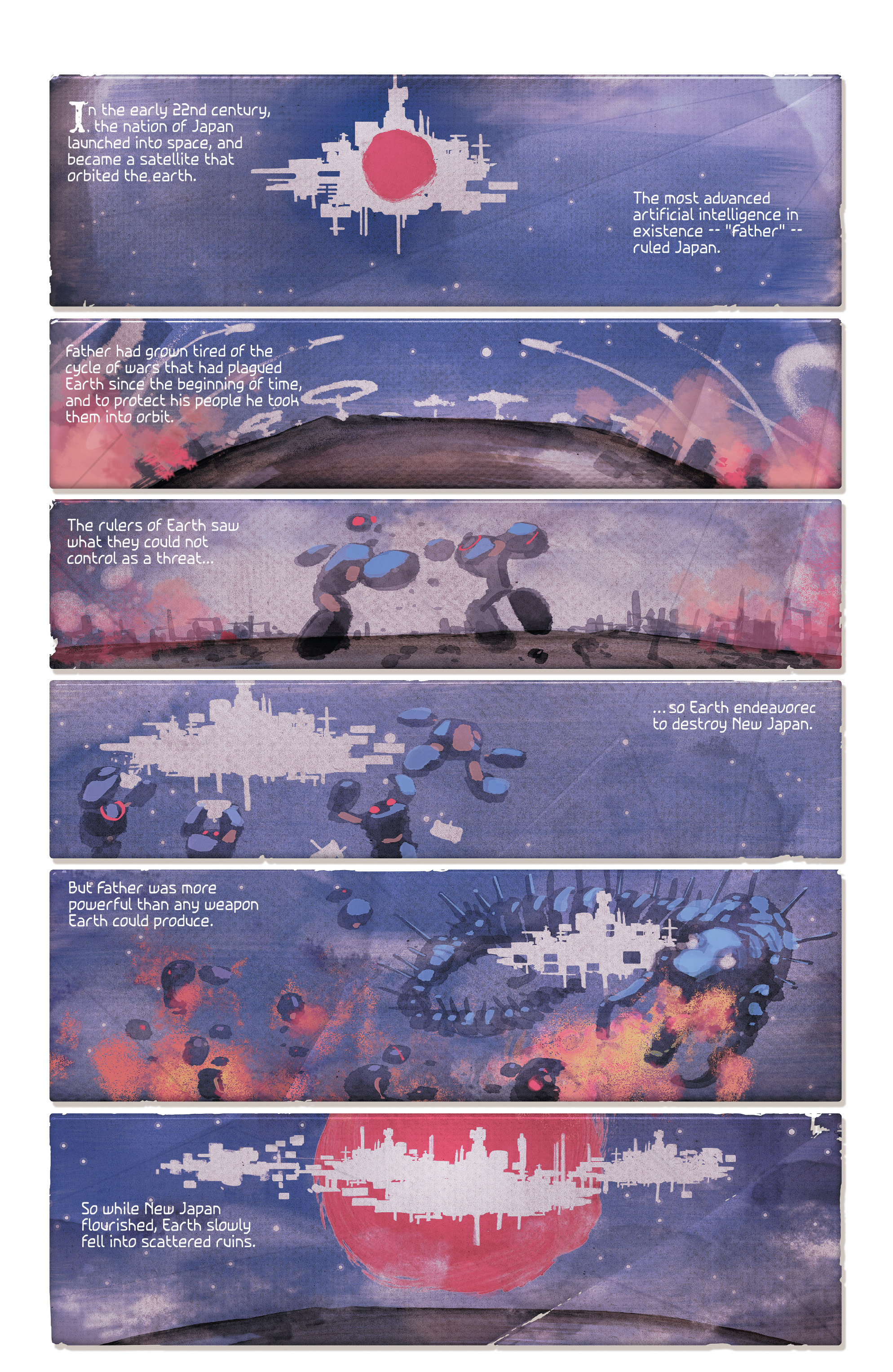 Read online 4001 A.D. comic -  Issue #2 - 3
