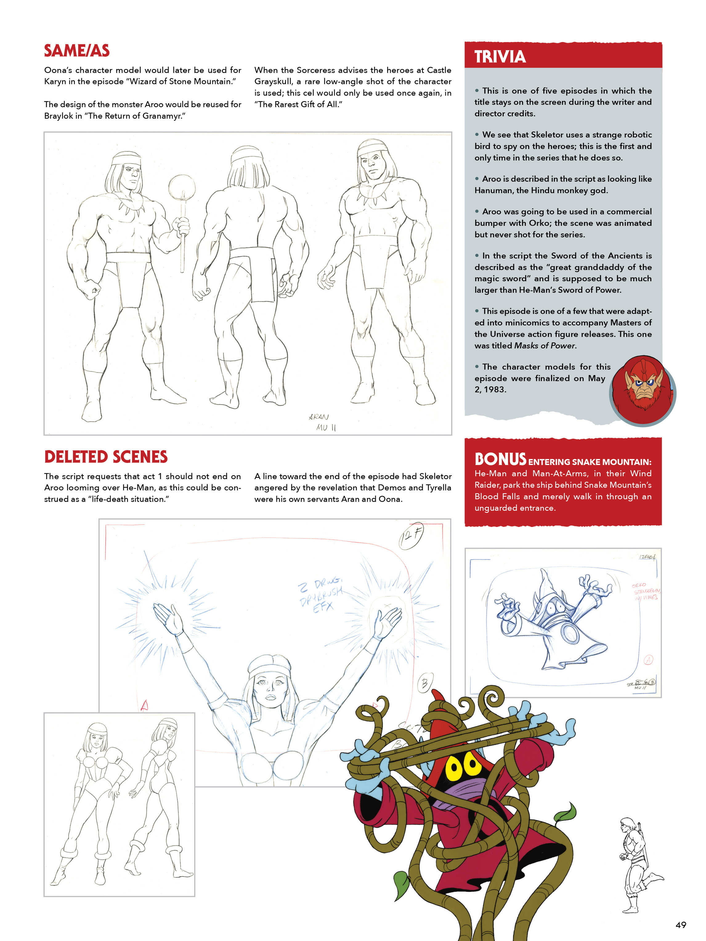 Read online He-Man and She-Ra: A Complete Guide to the Classic Animated Adventures comic -  Issue # TPB (Part 1) - 48