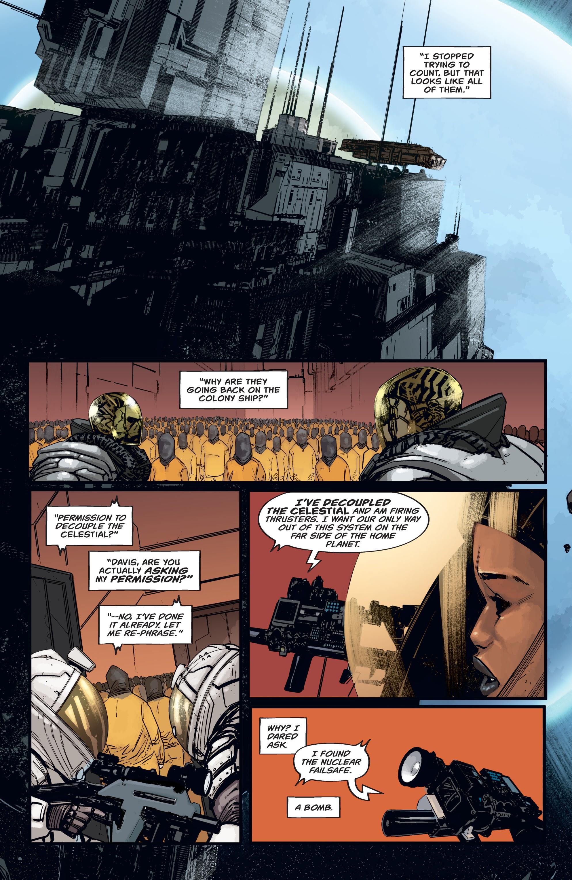 Read online Aliens: Resistance comic -  Issue # _TPB - 40