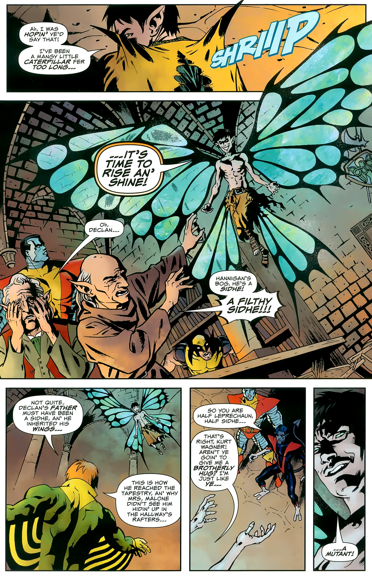 Read online Uncanny X-Men: First Class comic -  Issue #8 - 14