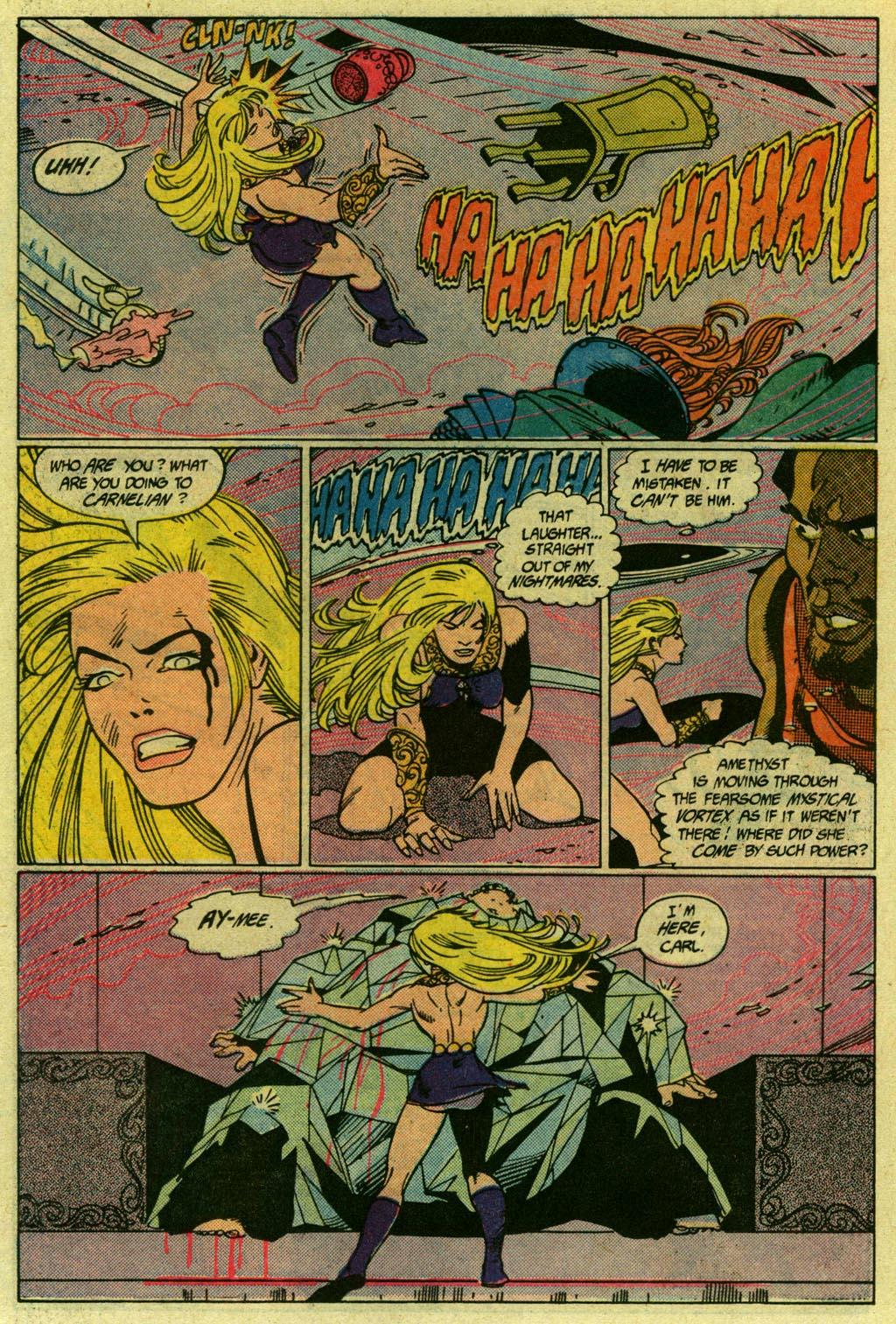 Read online Amethyst (1985) comic -  Issue #14 - 20