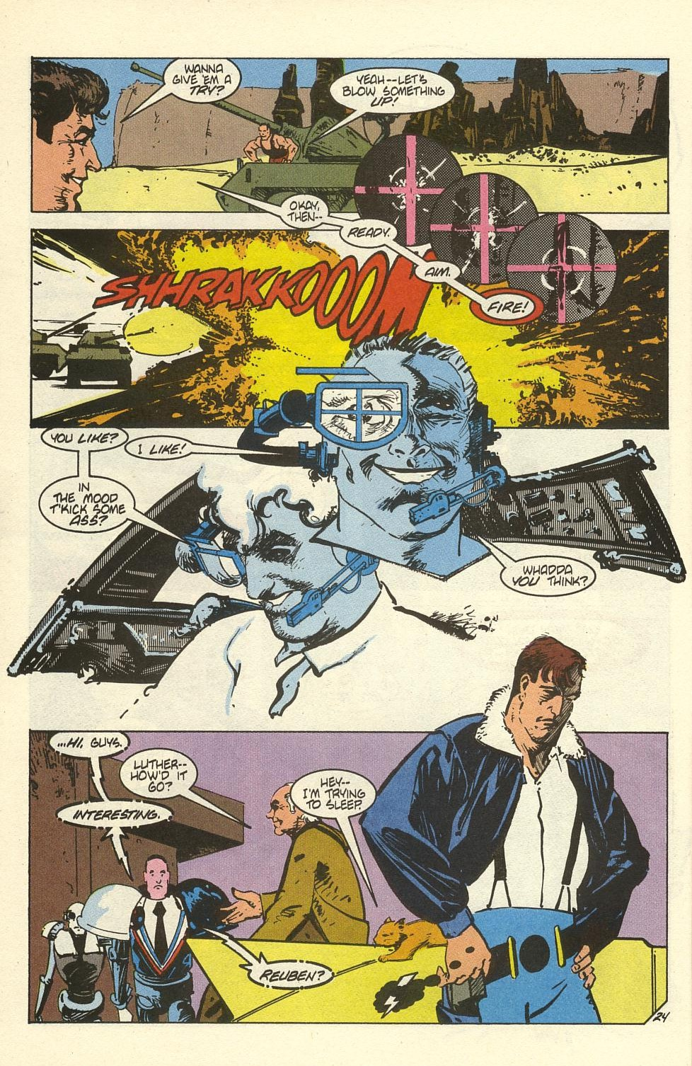 Read online American Flagg! comic -  Issue #41 - 30
