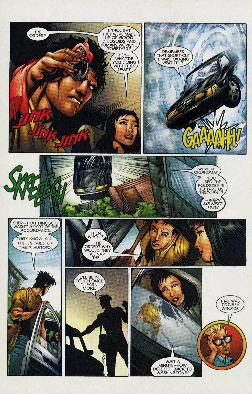 Read online Turok comic -  Issue #3 - 10