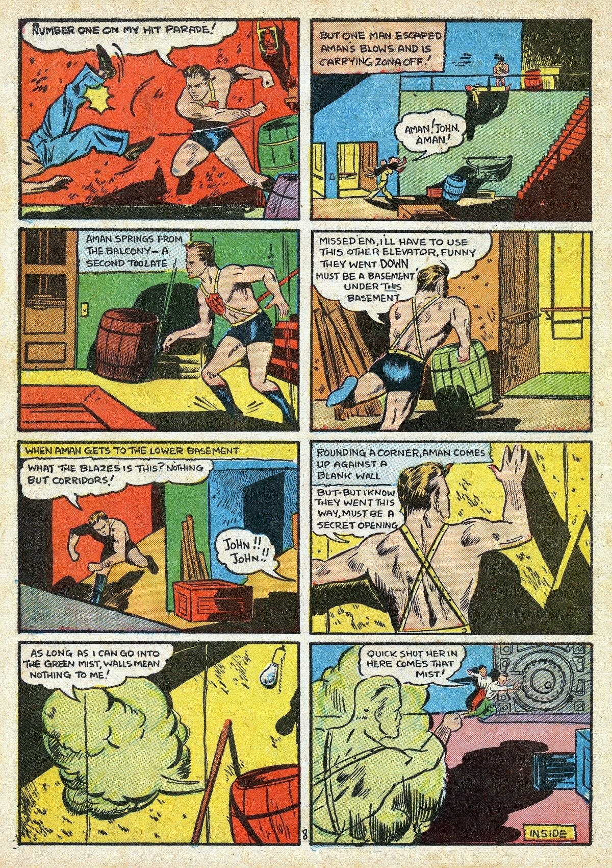Read online Amazing Man Comics comic -  Issue #16 - 10