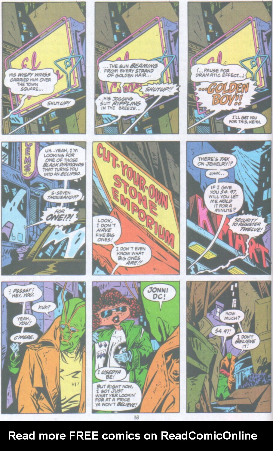 Read online Ambush Bug Nothing Special comic -  Issue # Full - 31