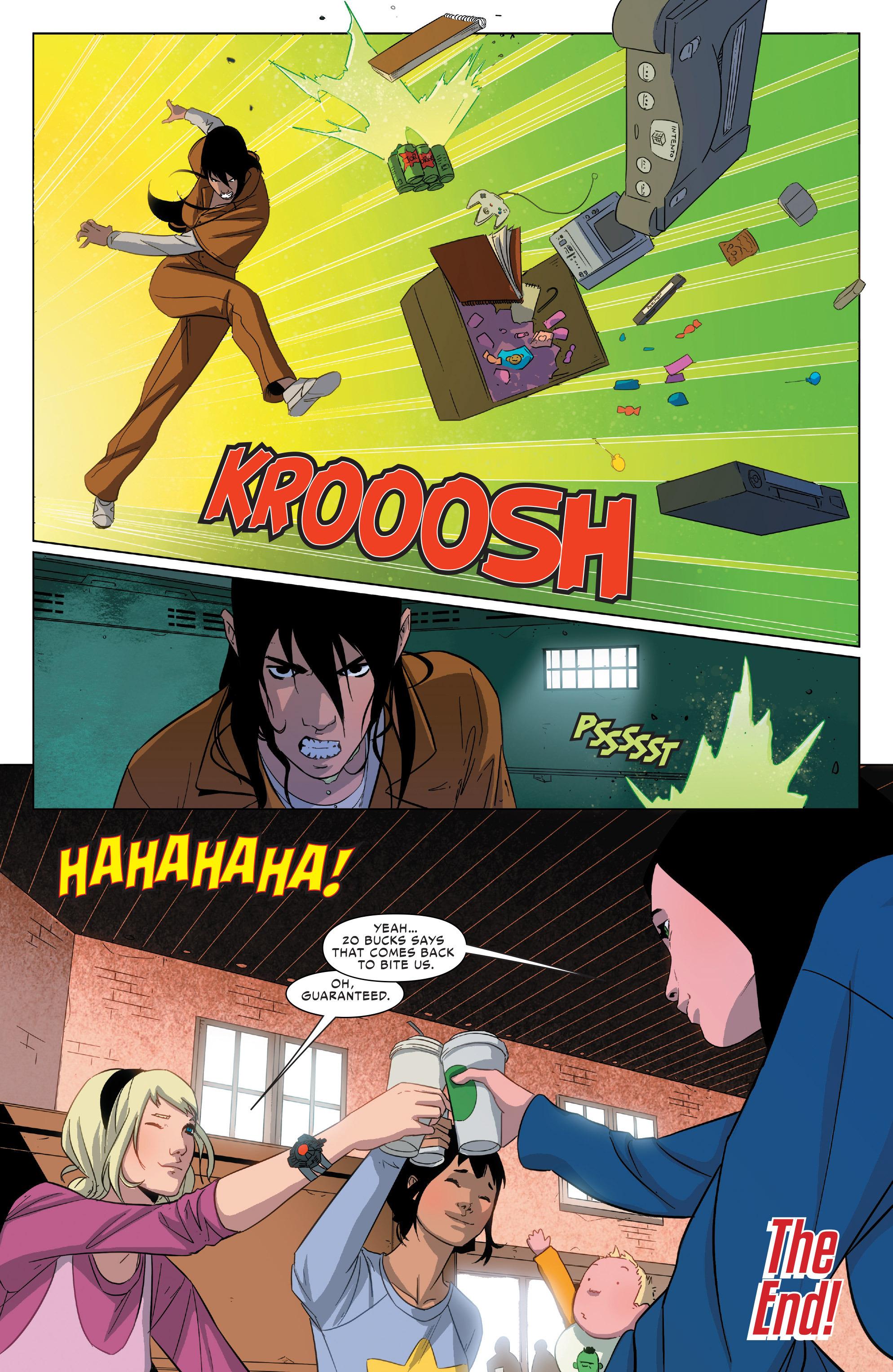 Read online Spider-Women Omega comic -  Issue # Full - 33